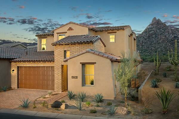 Summit at silverstone new homes in scottsdale az for Building a house in arizona