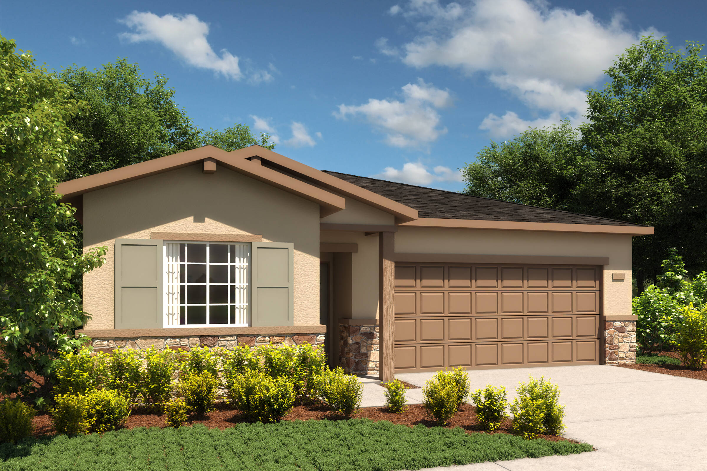 sierra c cottage new homes merced california