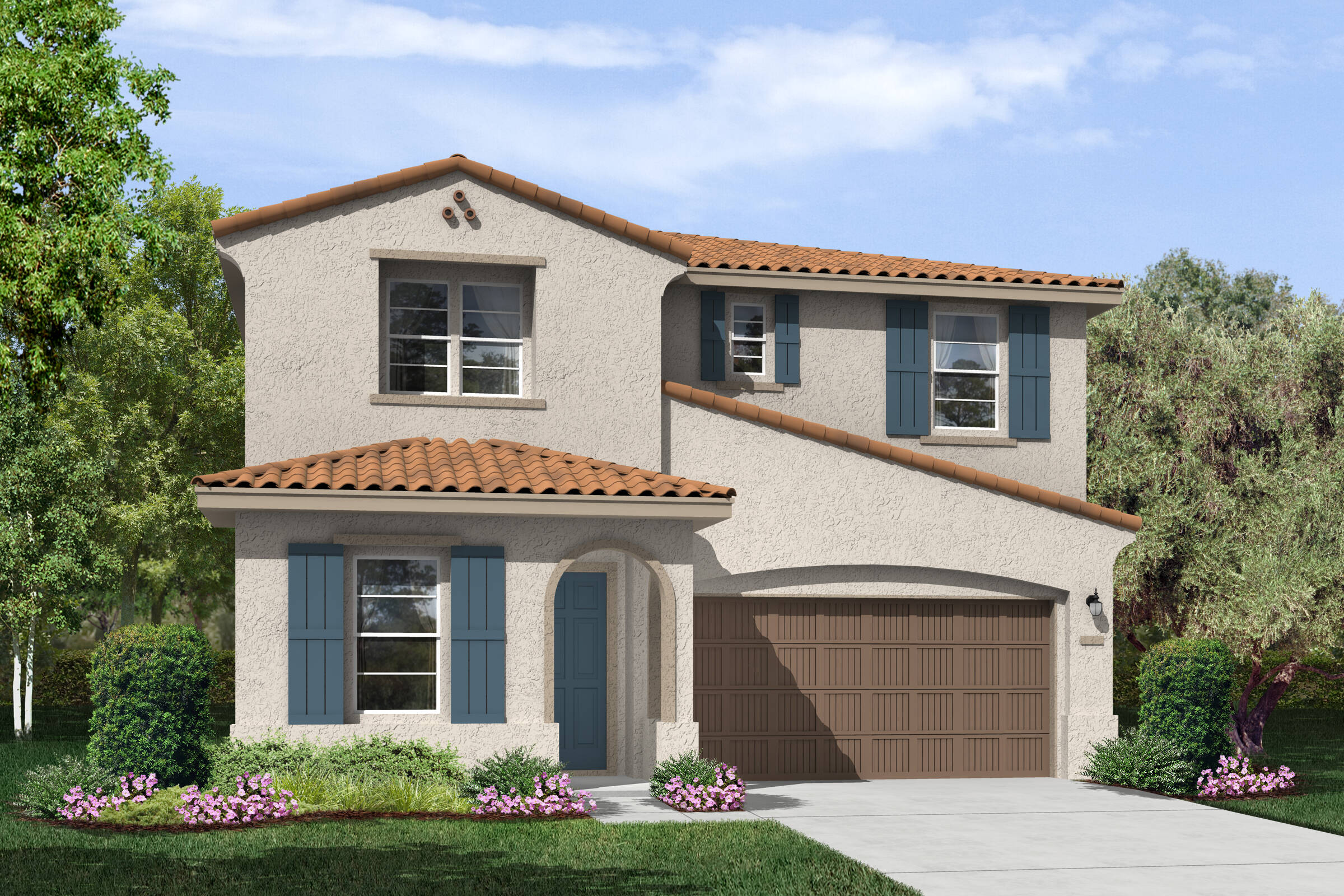 garden spanish new homes hollister california