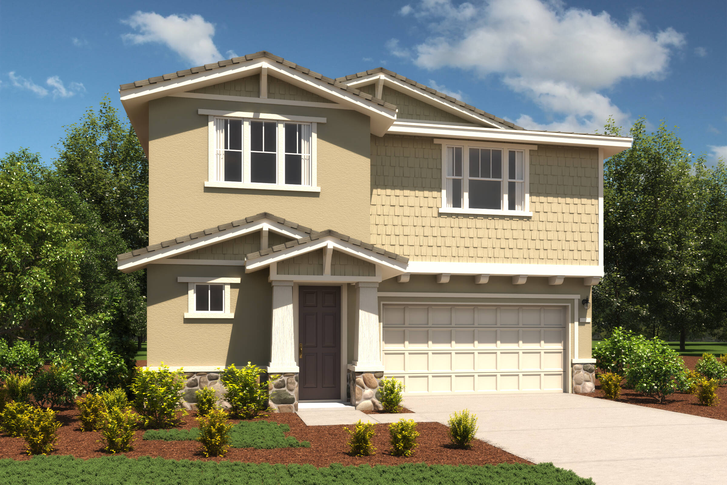 meadow craftsman new homes hollister california