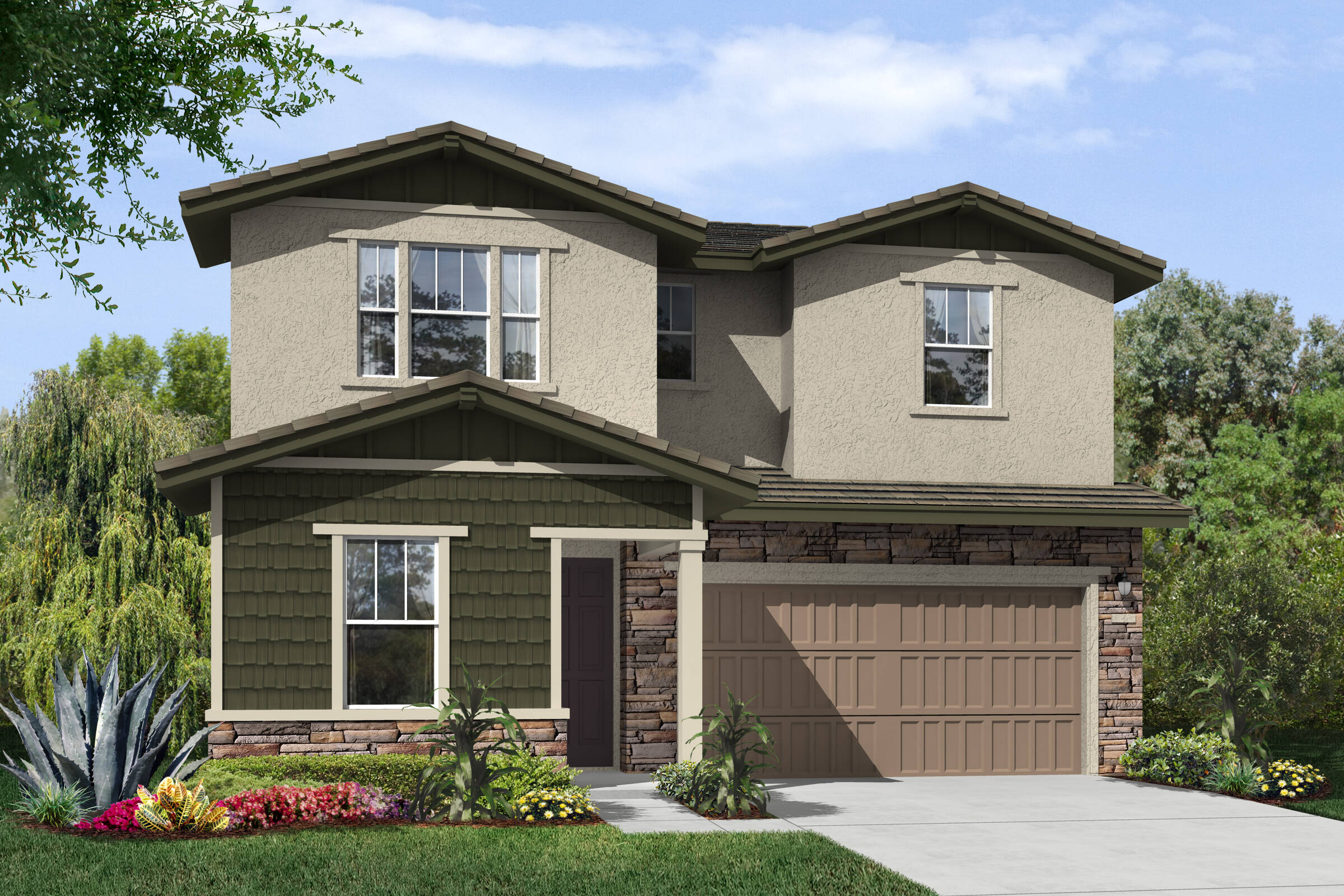 prairie craftsman new homes hollister california