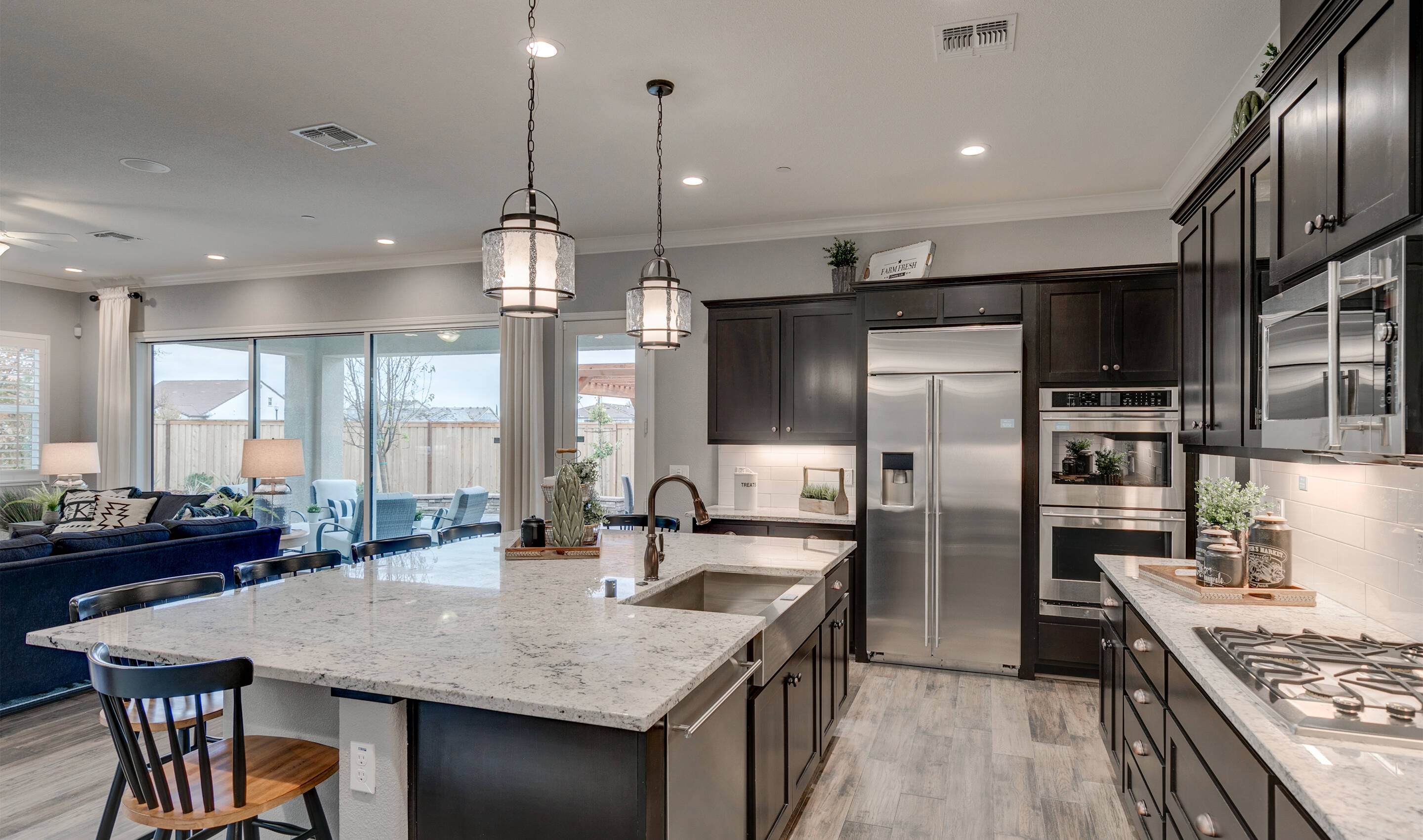 Ample cabinet space in kitchen & Parkside at Westshore - Canopy