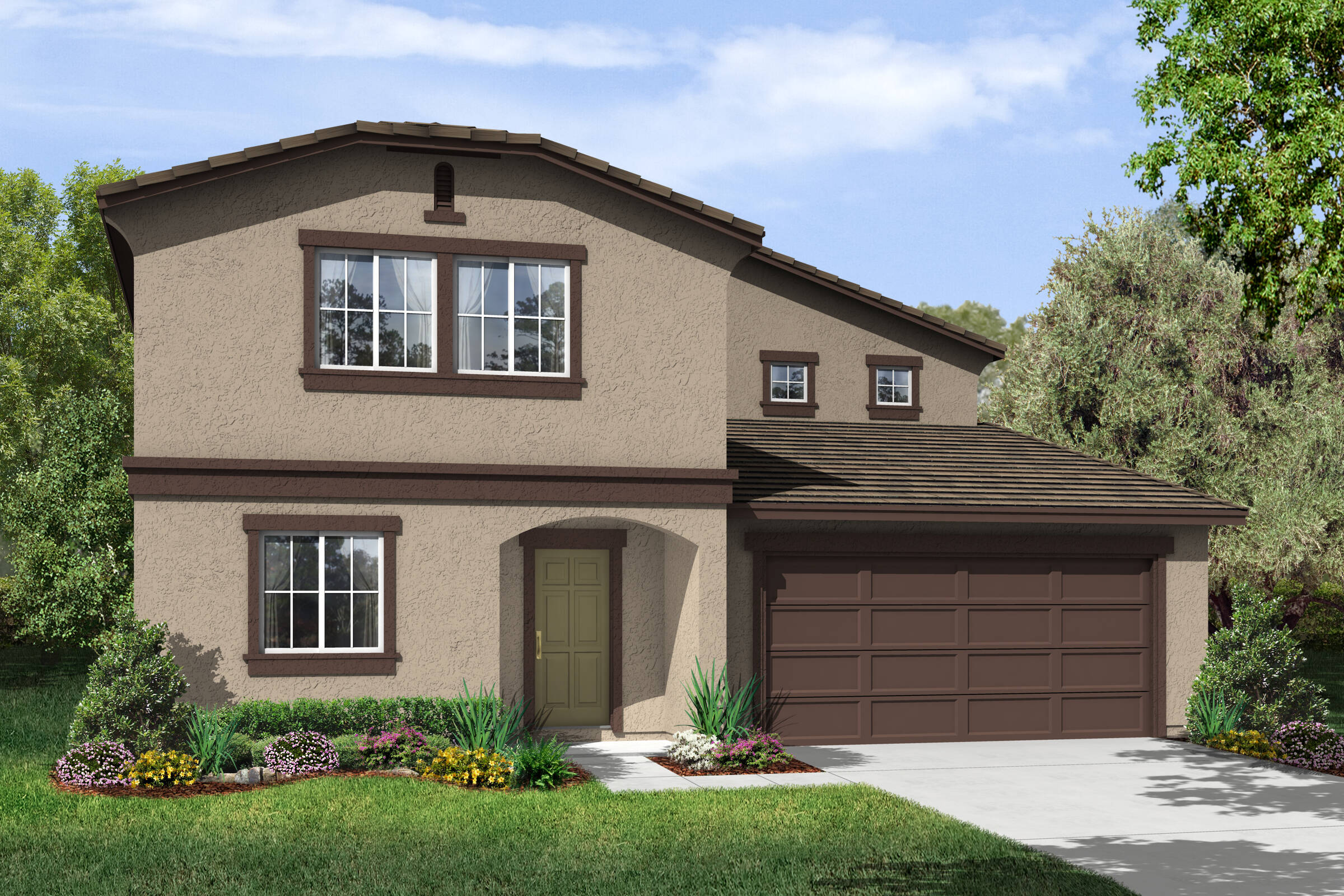 sol c new homes in arvin california