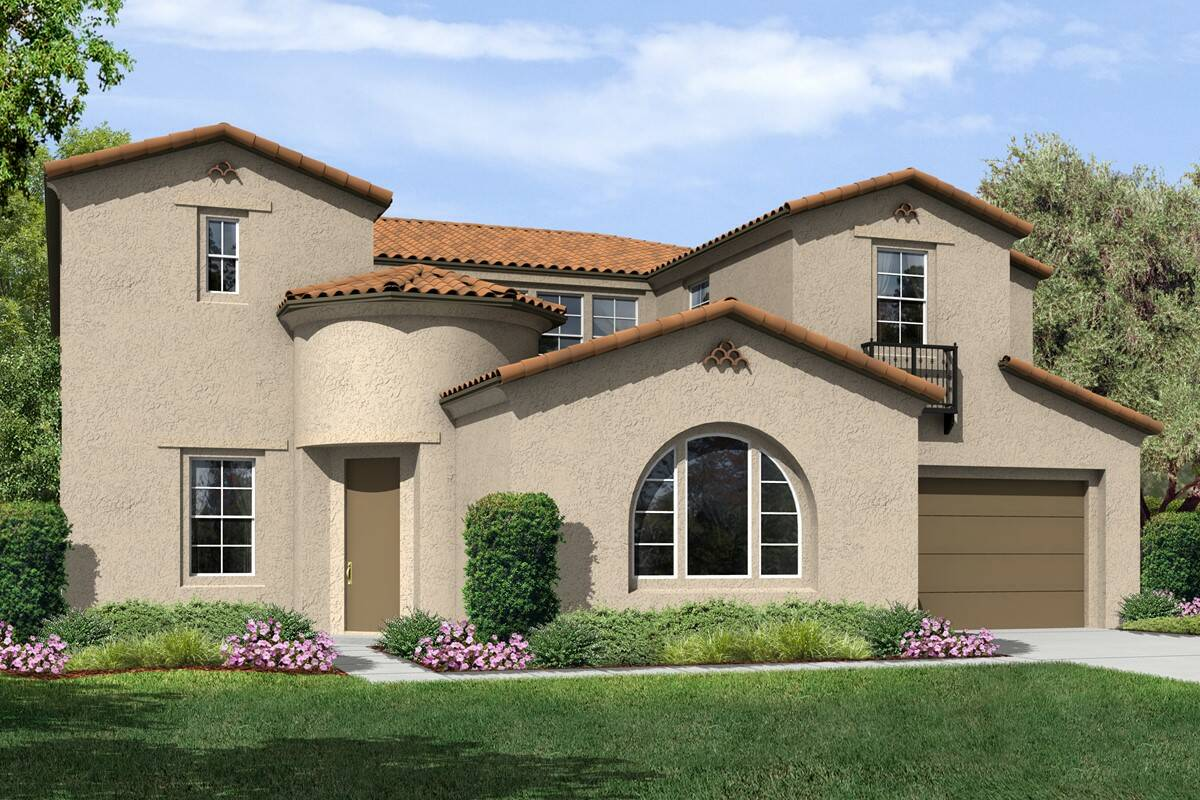 plan 3 rosecliff a spanish new homes estates collection at meridian hills california