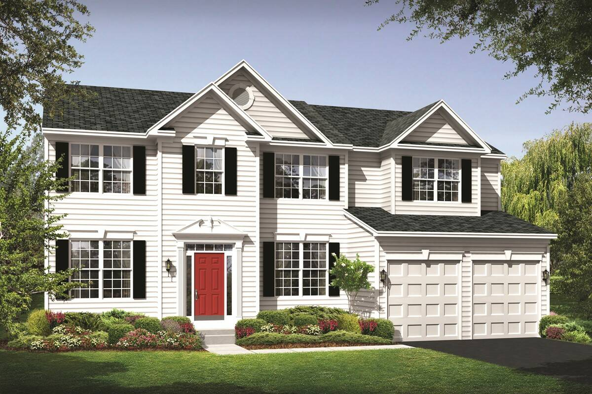 Chestnut ridge new homes in magnolia de for New source homes