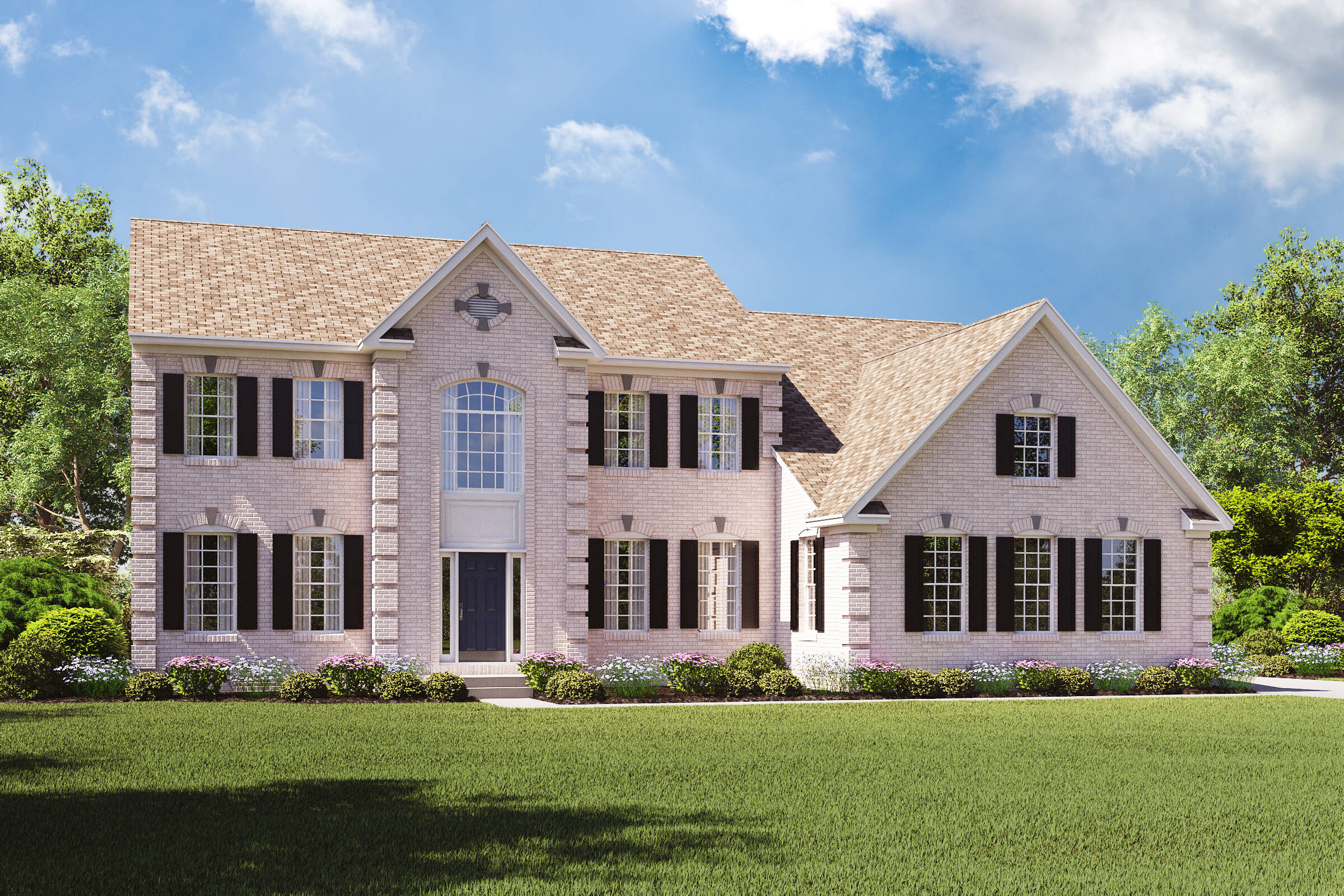 rhode island traditional new homes at estates at cedar lane