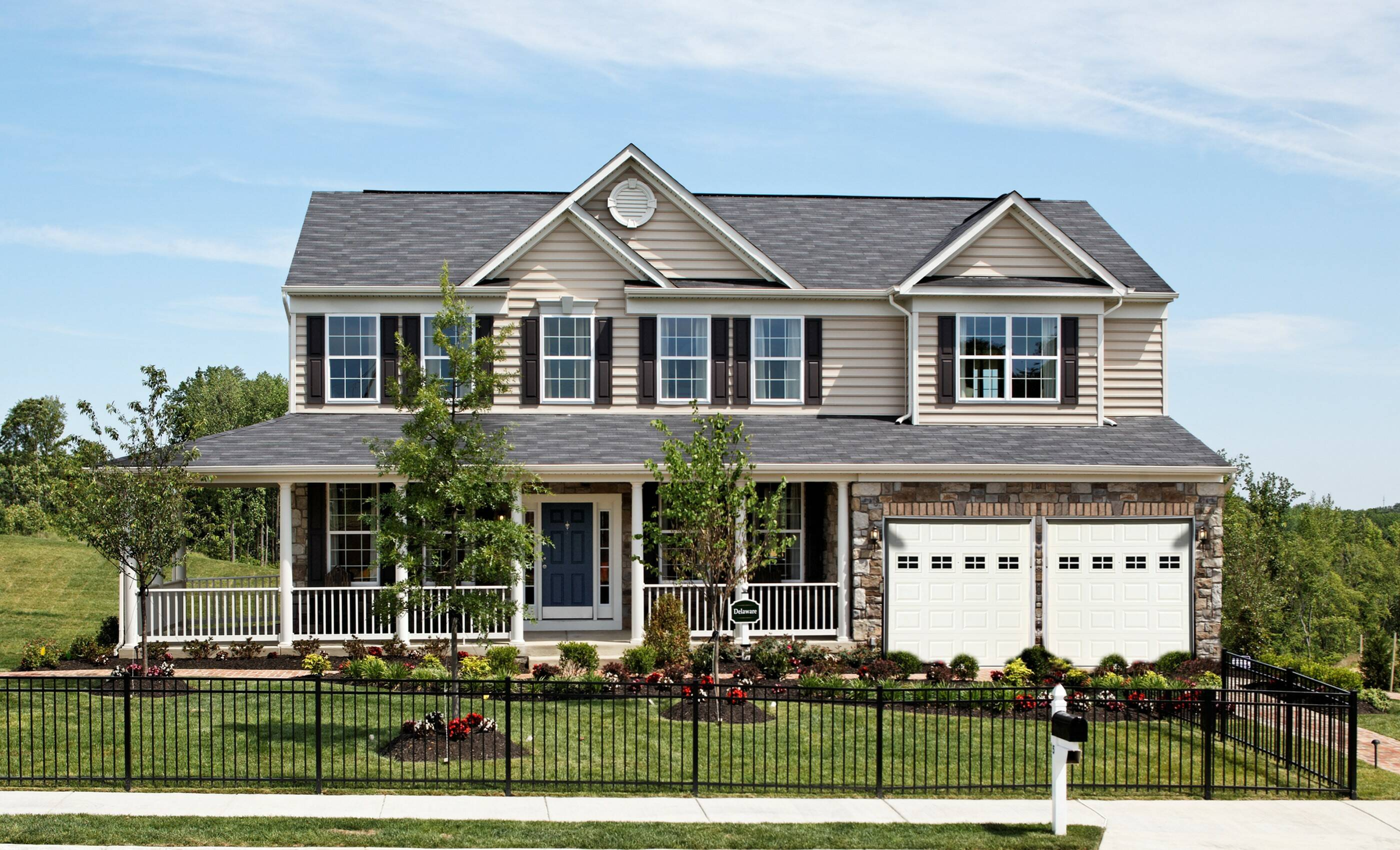 K hovnanian homes floor plans virginia for Virginia farmhouse plans