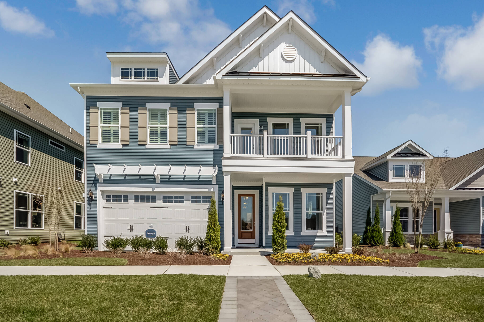 dewey II cs new homes at ocean view beach club in delaware