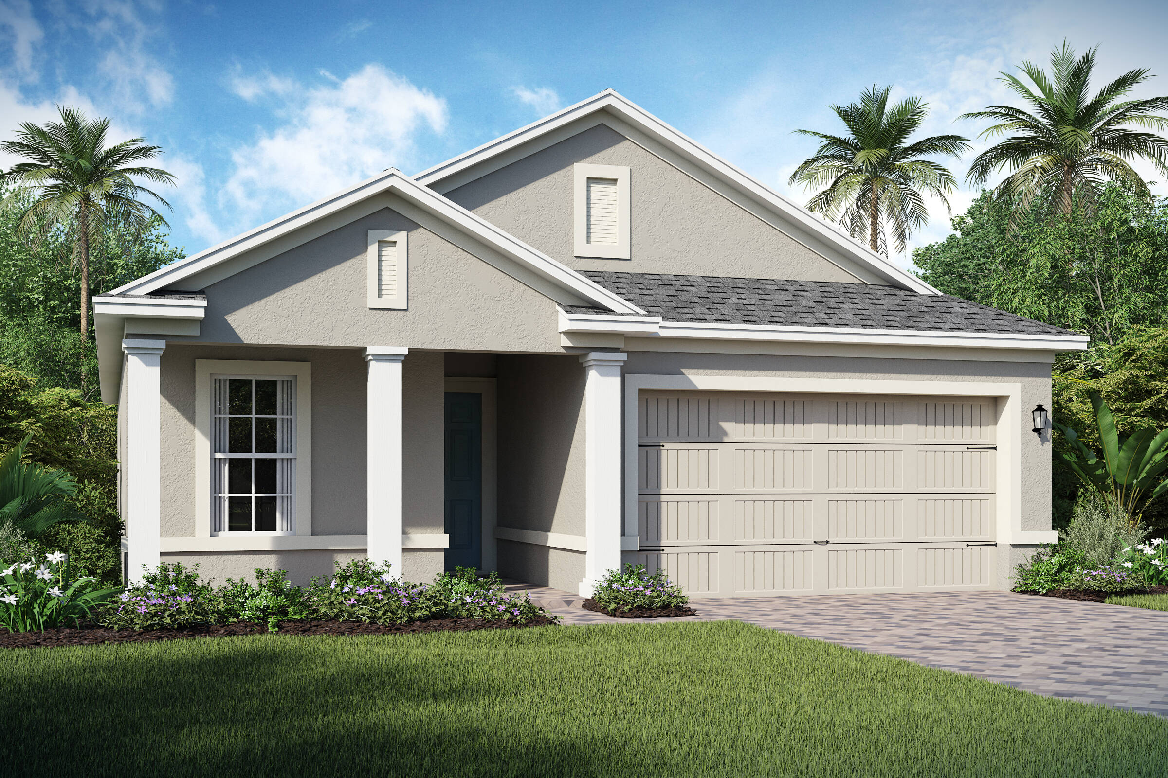 Balfour-C-elev new homes in orlando