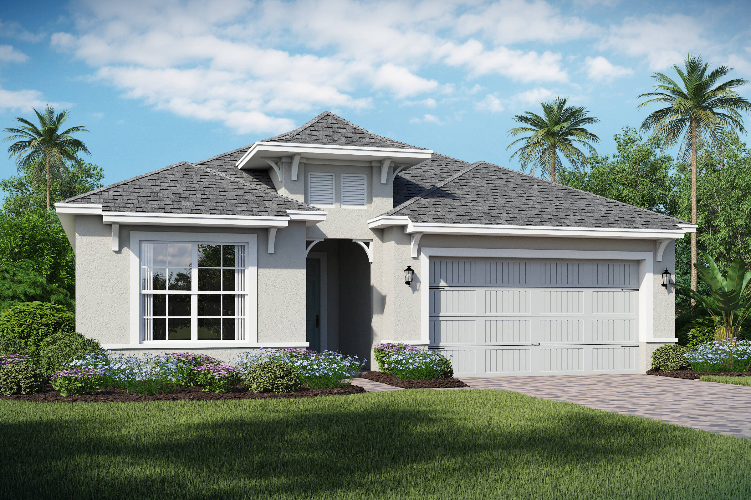 Barbados-B-elev new homes in orlando