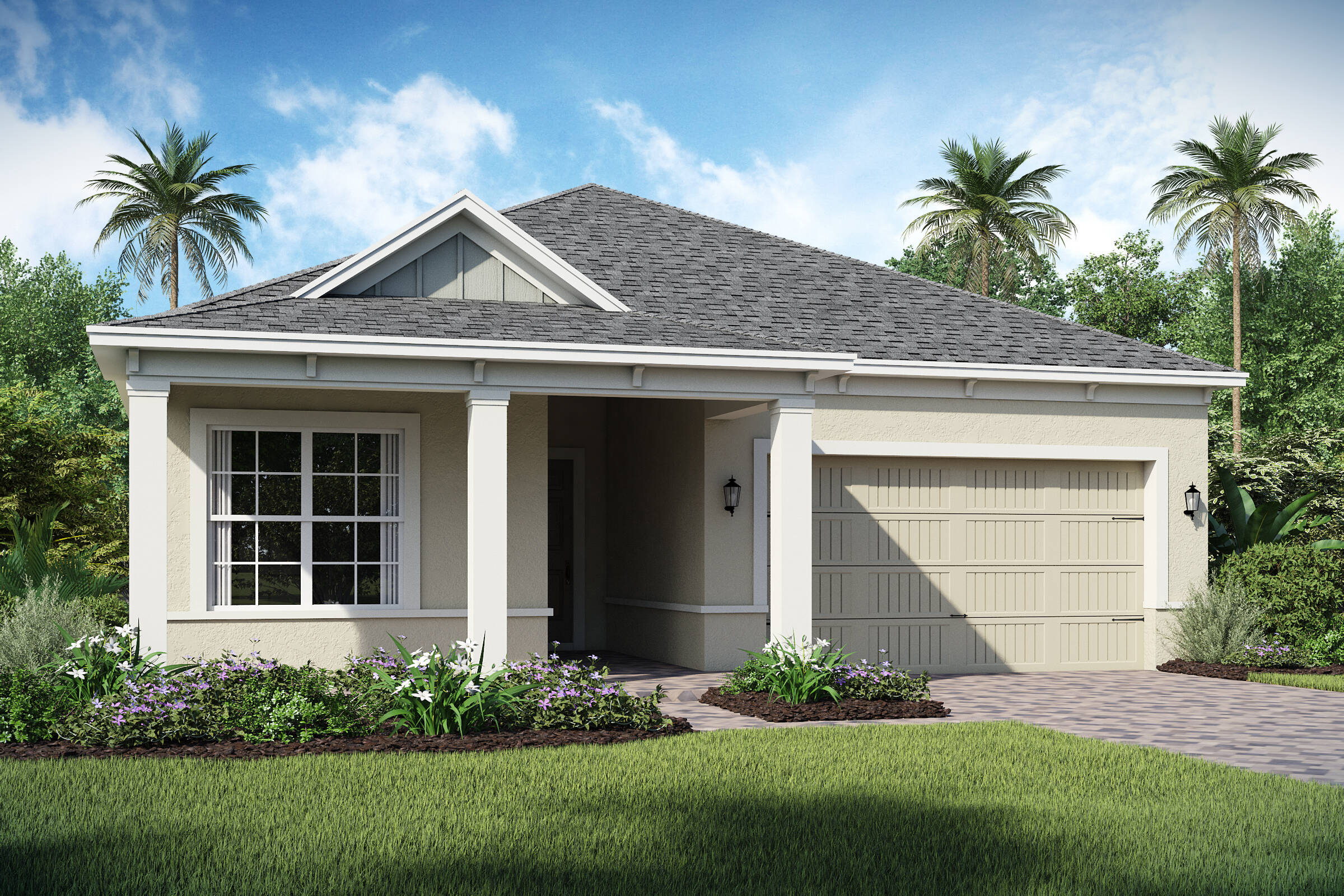 Barbados-C-elev new homes in orlando