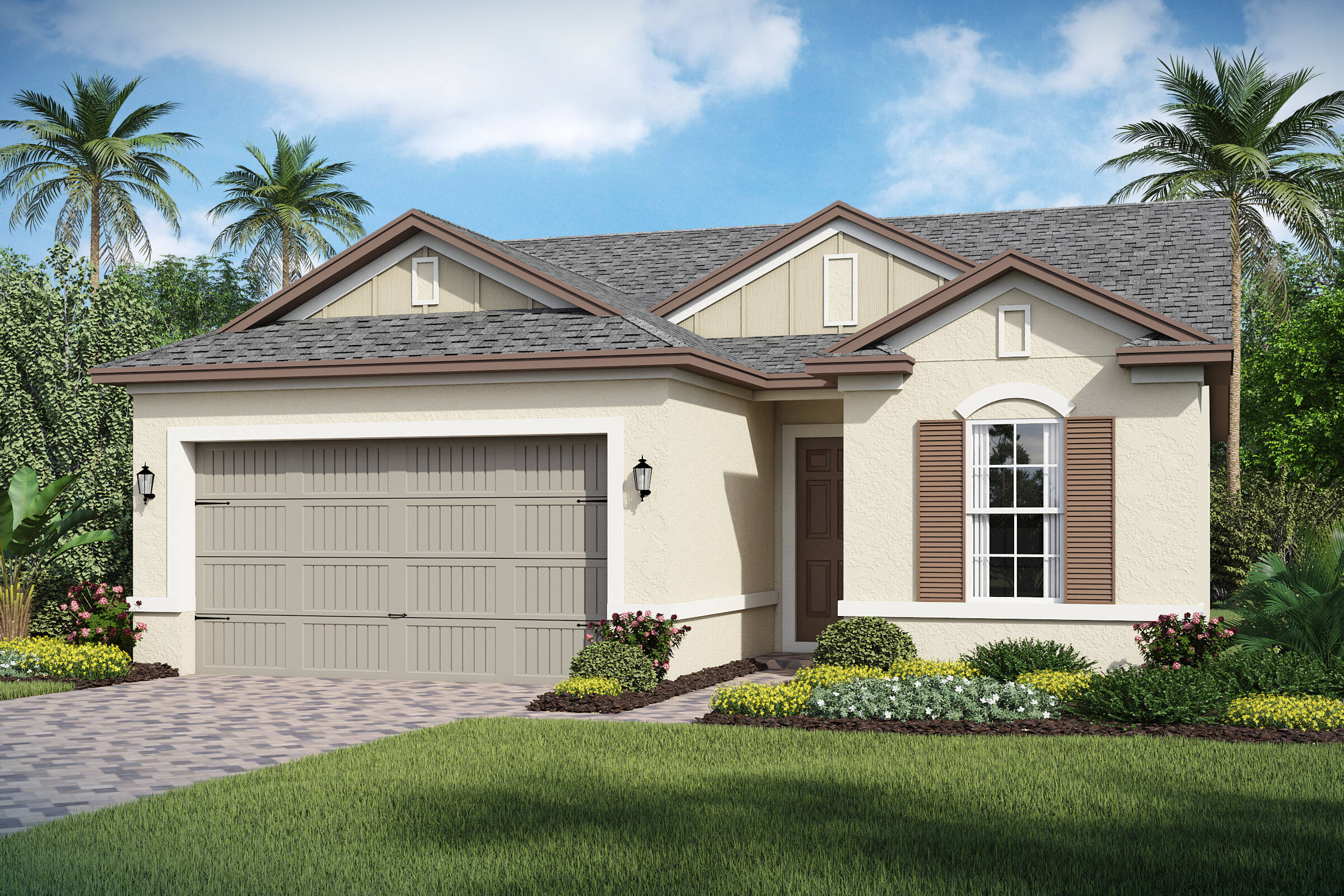 Bermuda-A-elev new homes in orlando