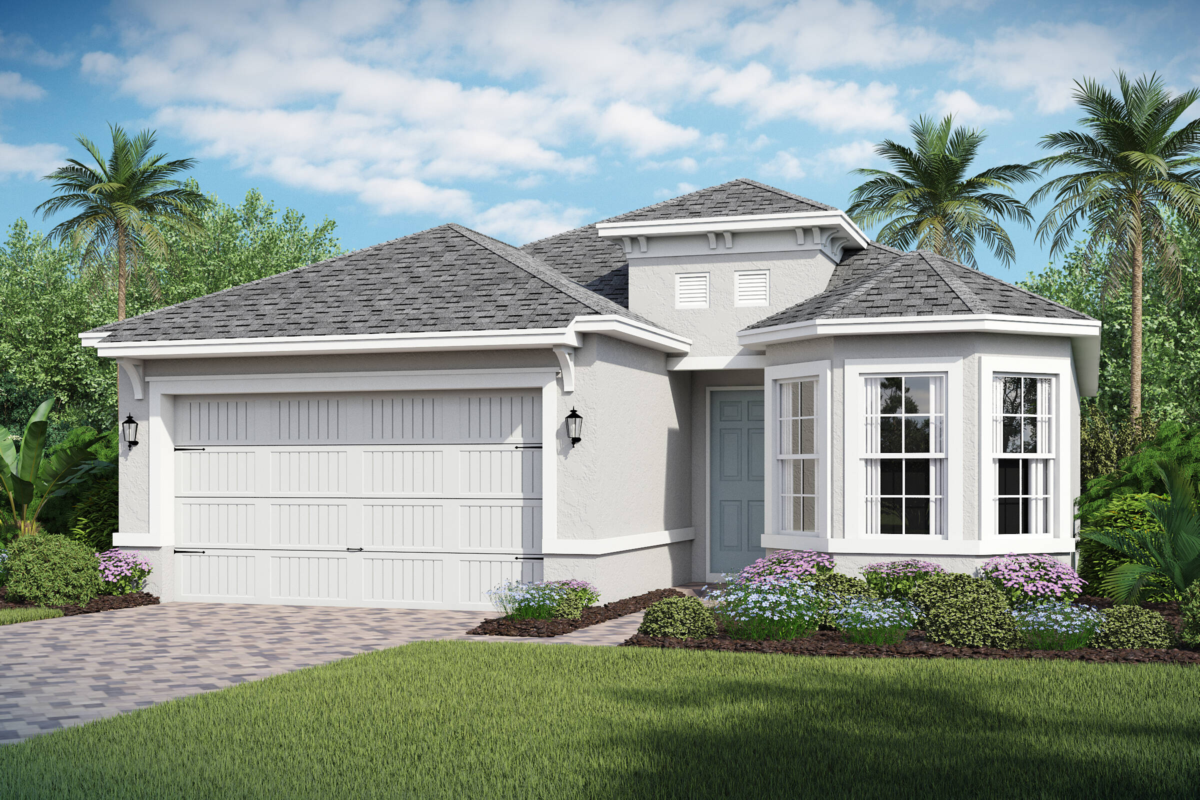 Bermuda-B-elev new homes in orlando