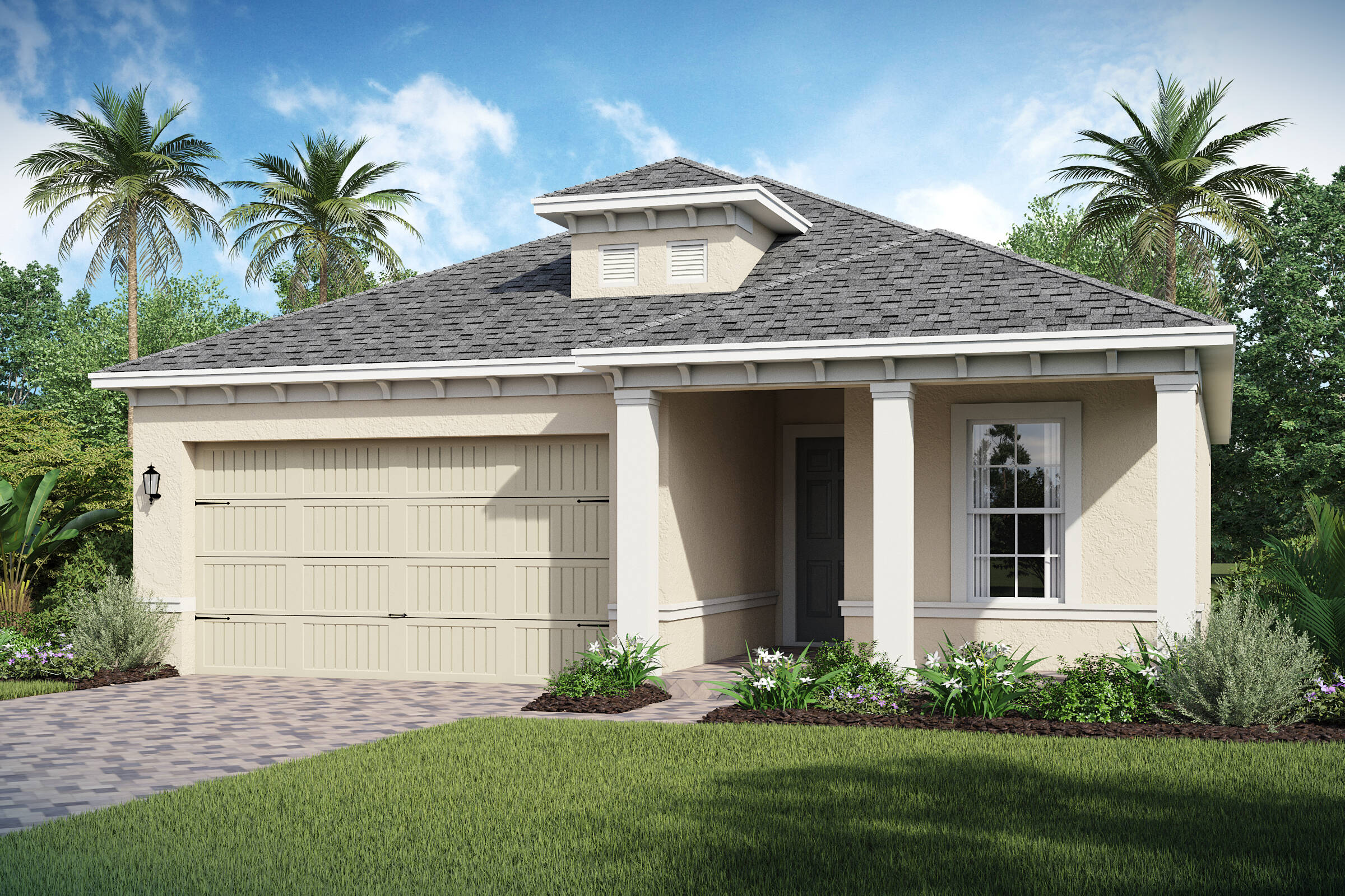 Bermuda-C-elev new homes in orlando