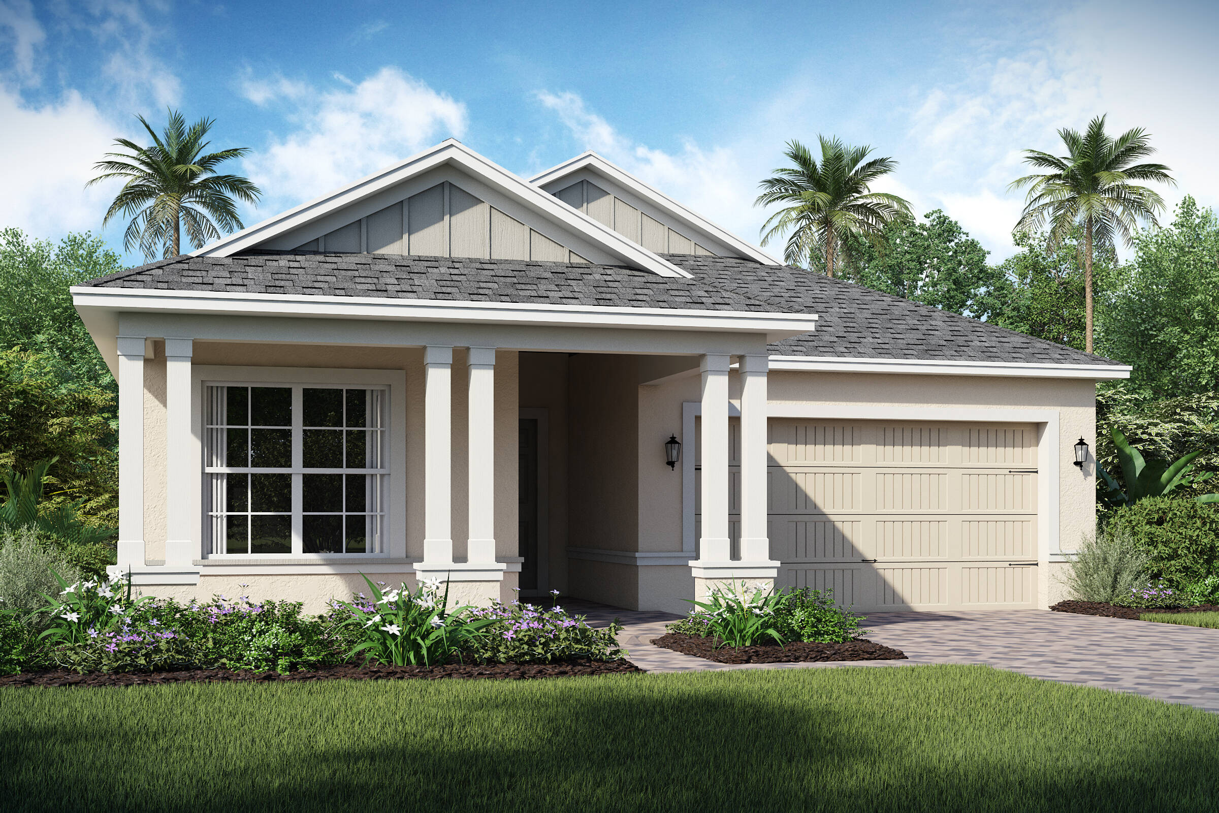 Dominica-C-elev new homes in orlando