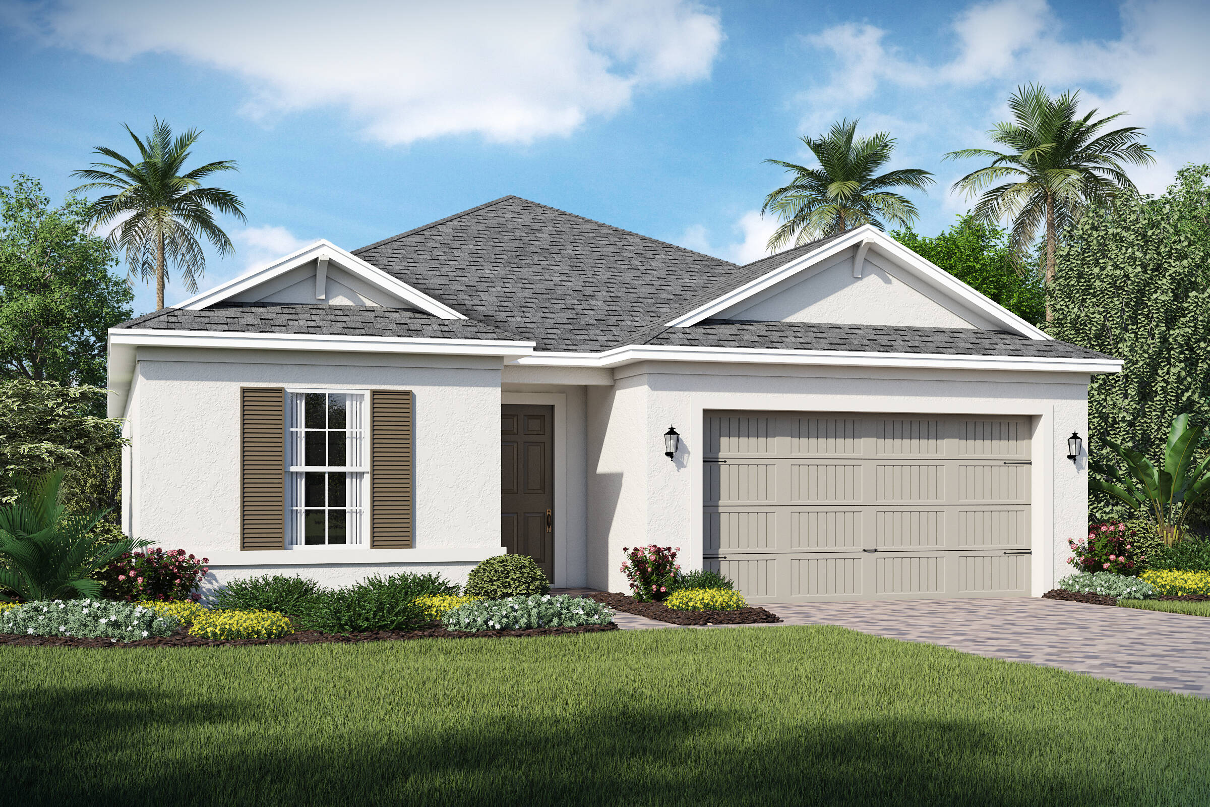 Saint Lucia-A-elev new homes in orlando