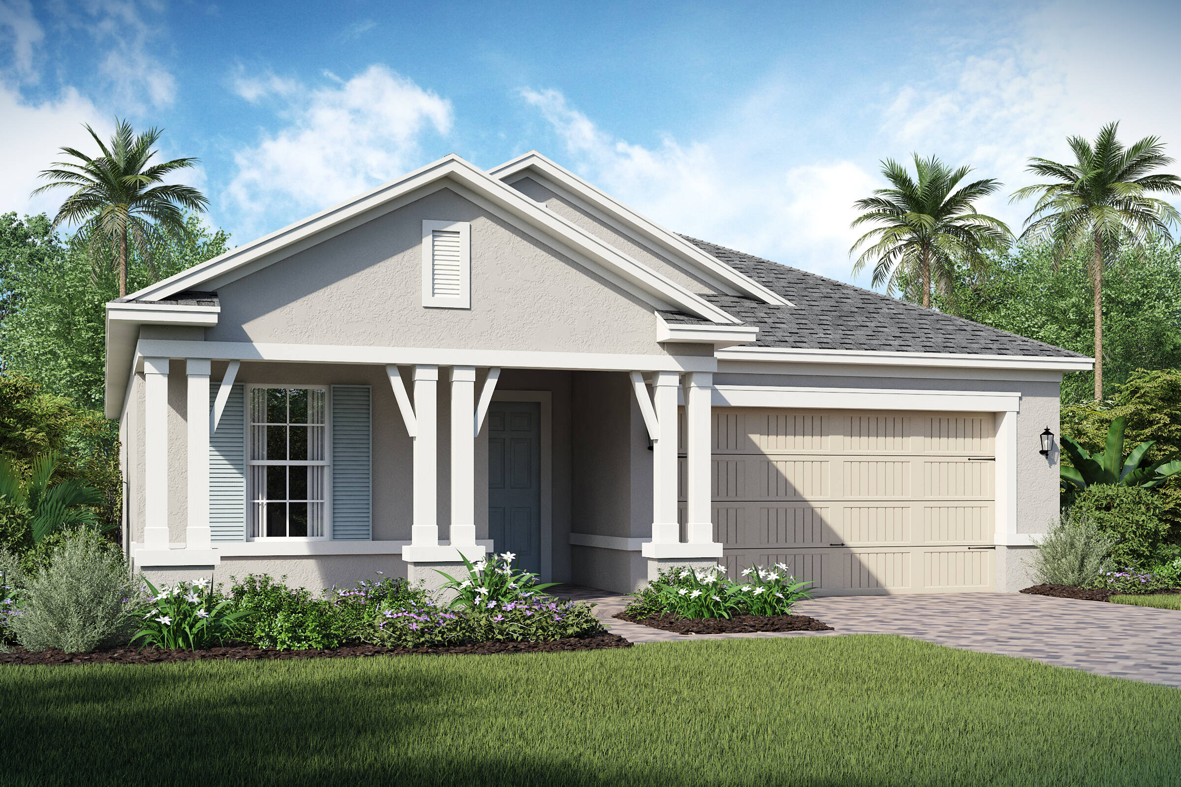 Saint Thomas-C-elev new homes in orlando