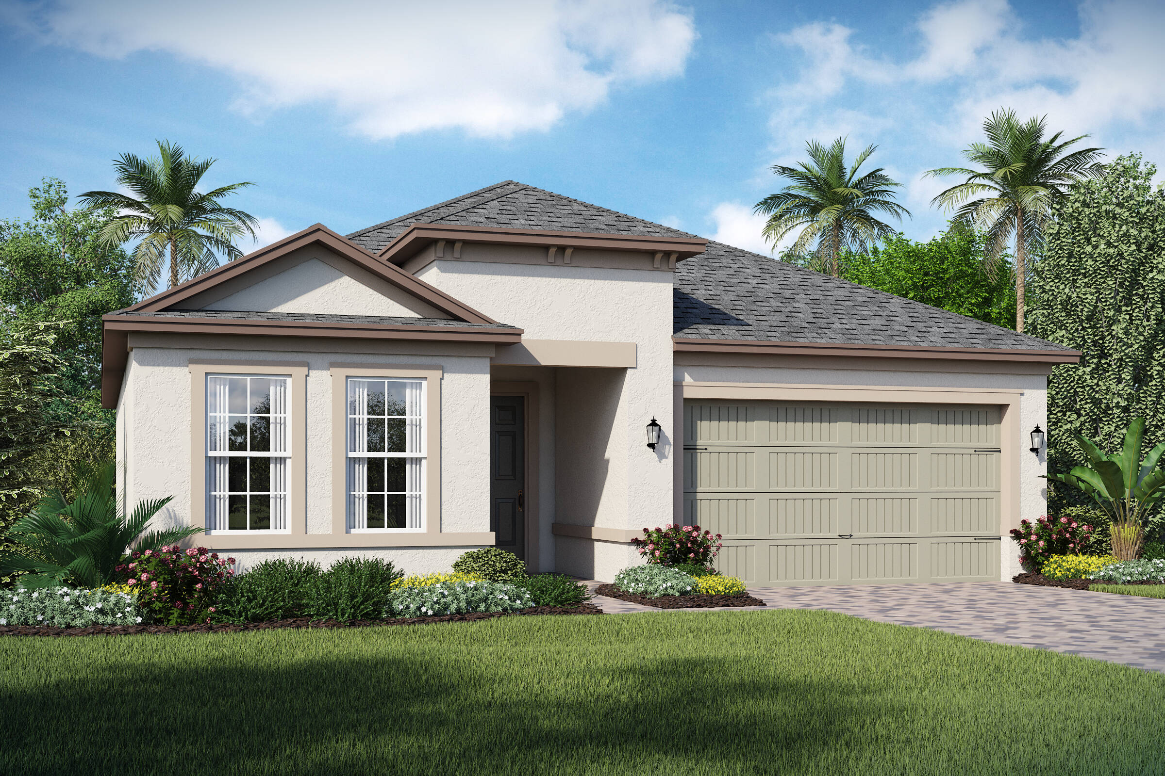 San Andres-A-elev new homes in orlando