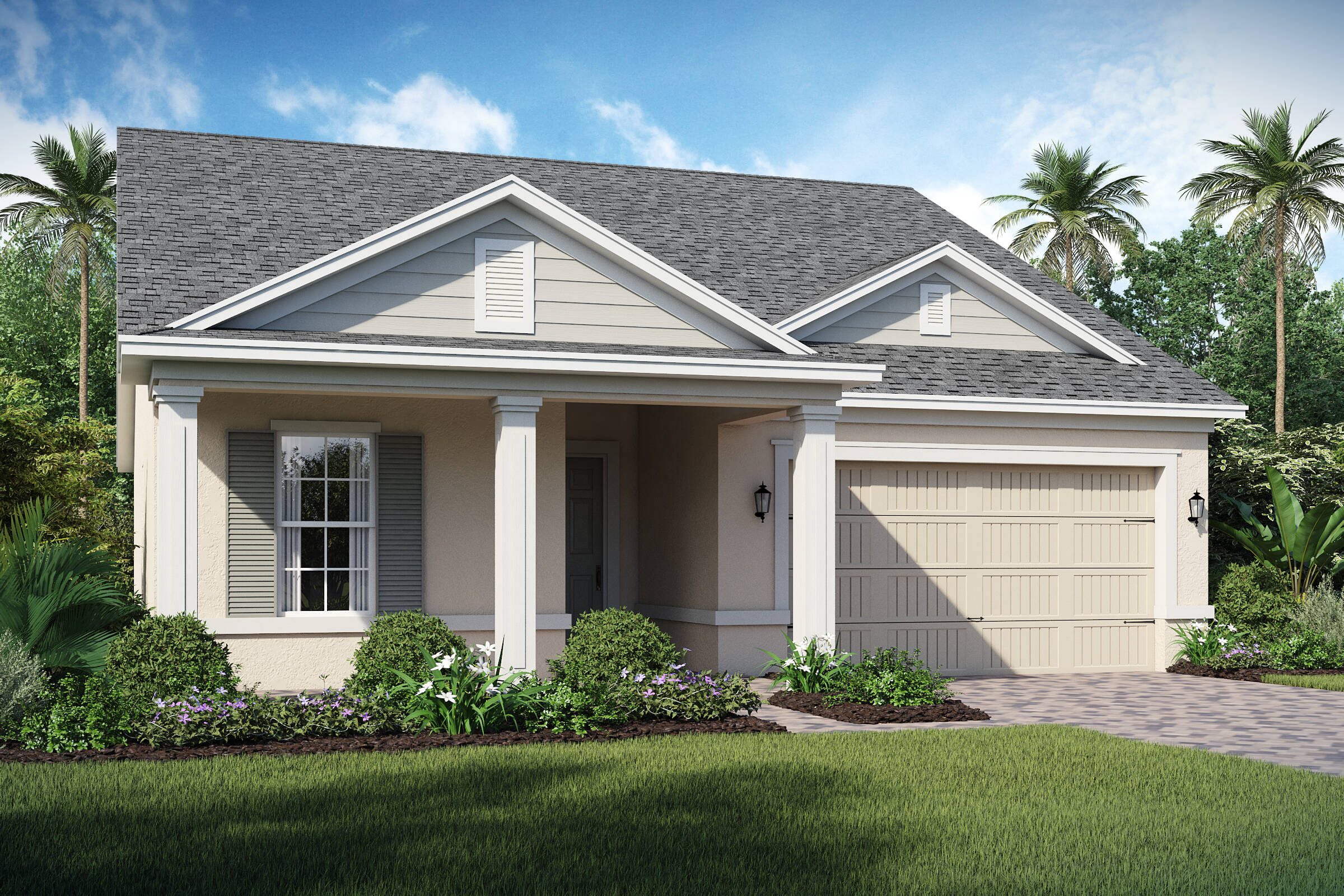 San Andres-C-elev new homes in orlando