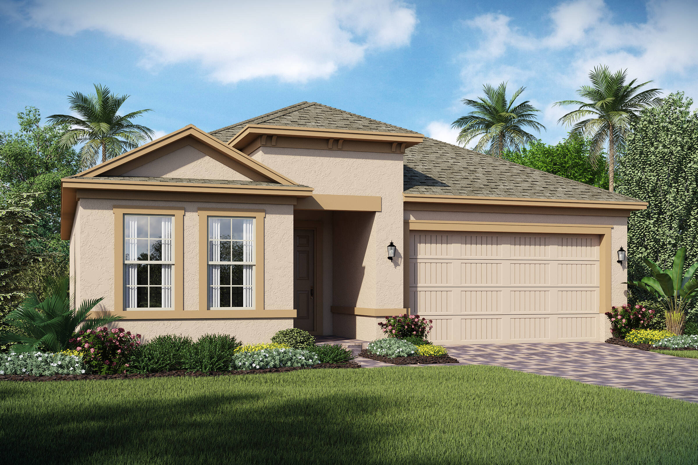 San Andres-A-elev new homes in orlando florida