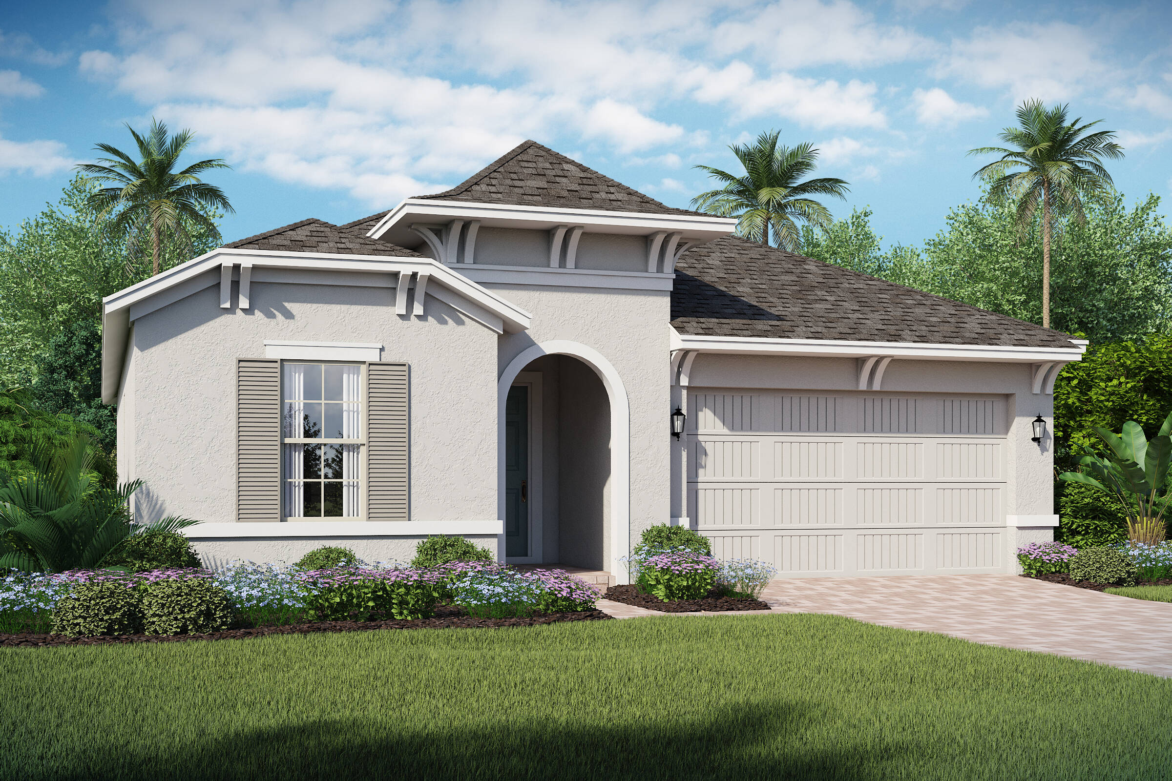 San Andres-B-elev new homes in orlando florida