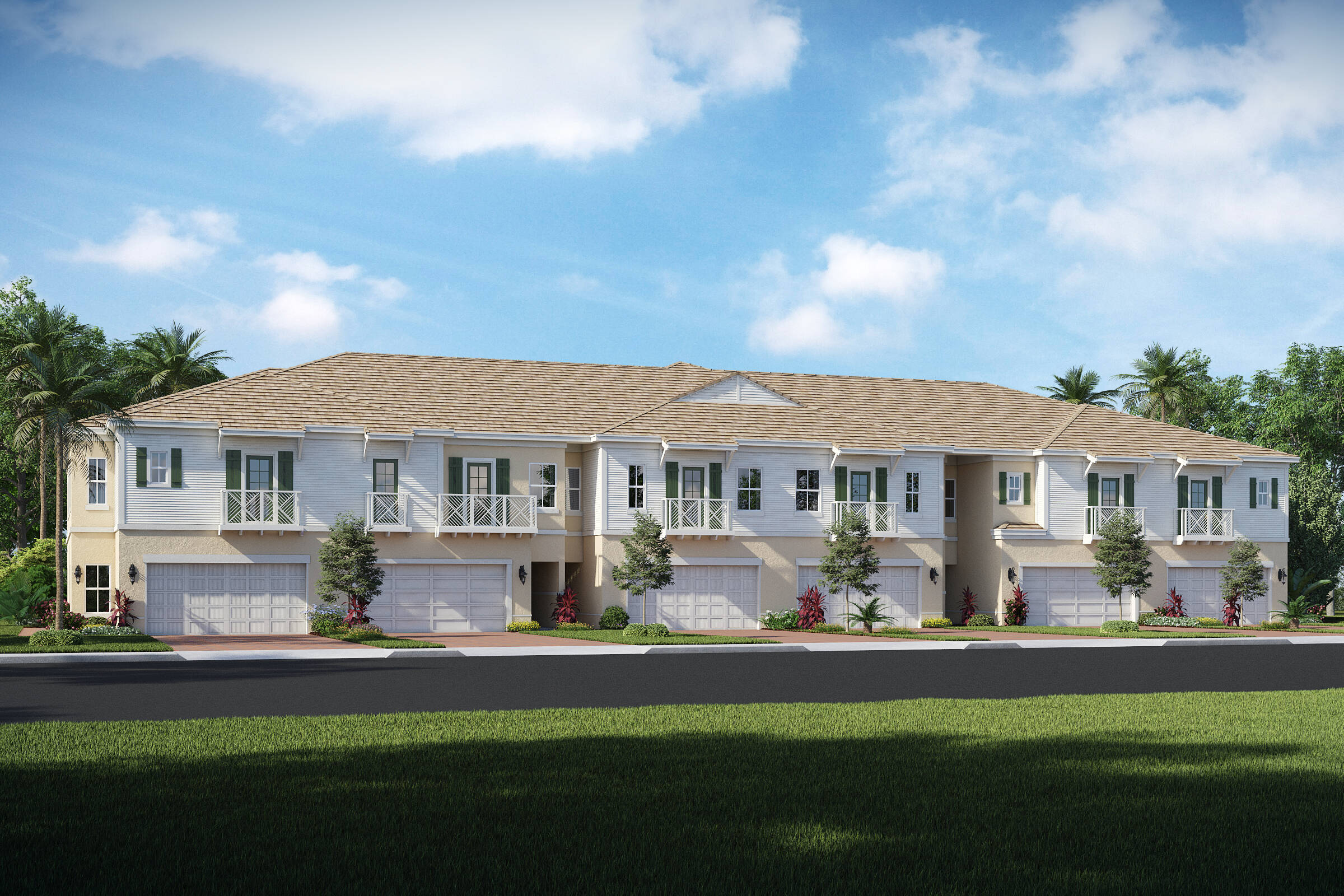 new townhomes in royal palm beach florida elevation