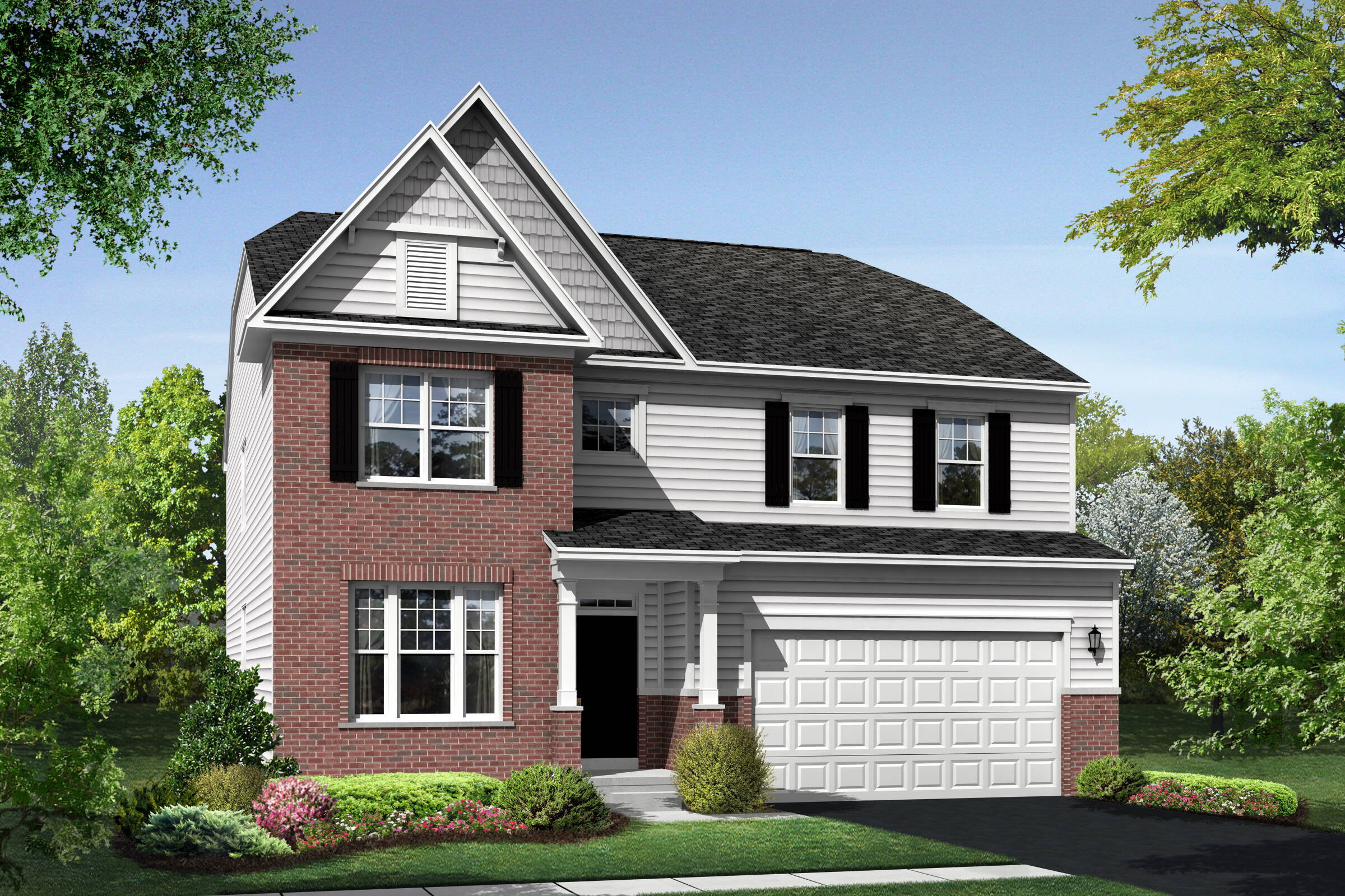 Colfax DB elevations at Orchard Meadows