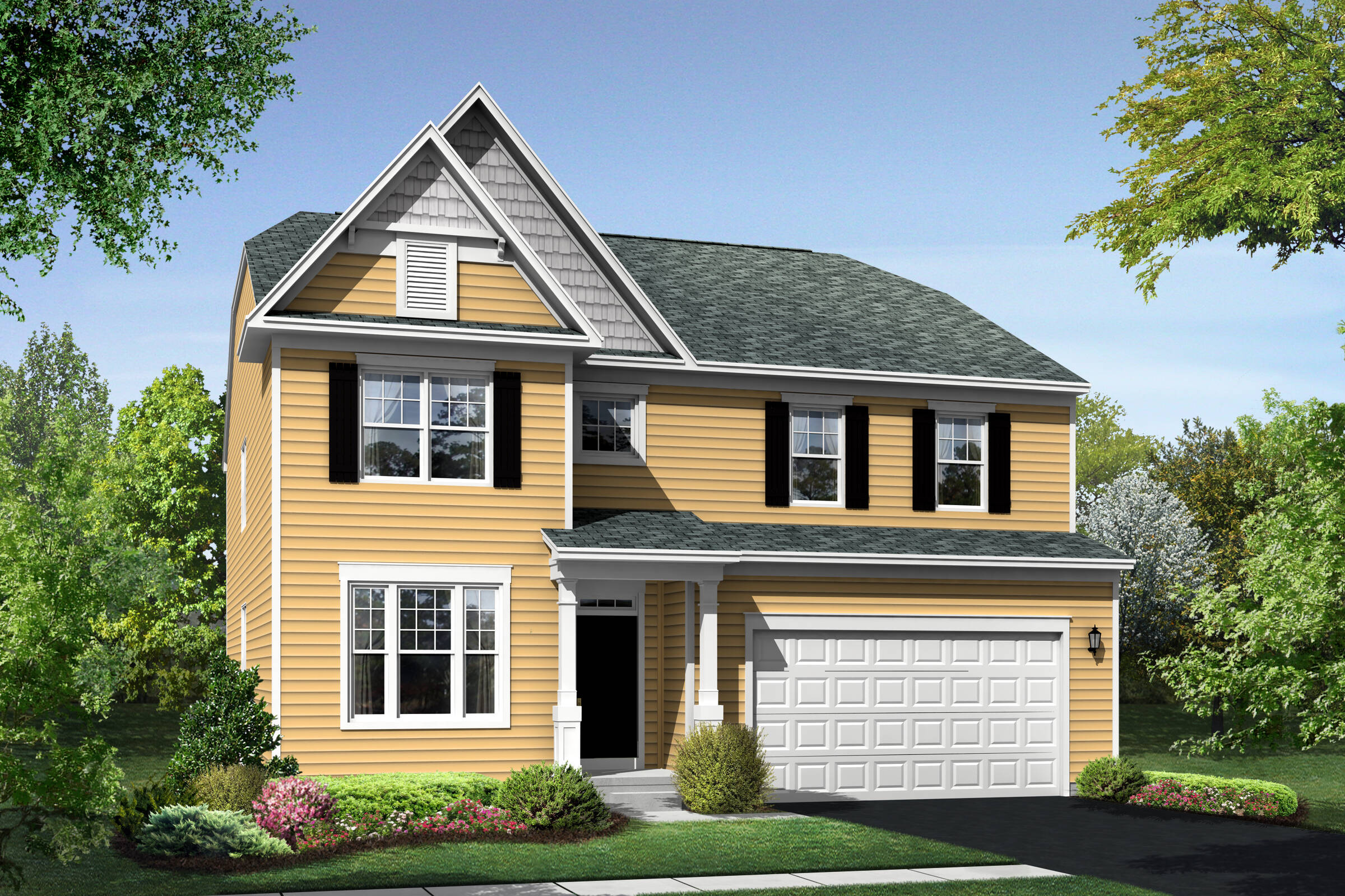 Colfax DS exterior at Orchard Meadows
