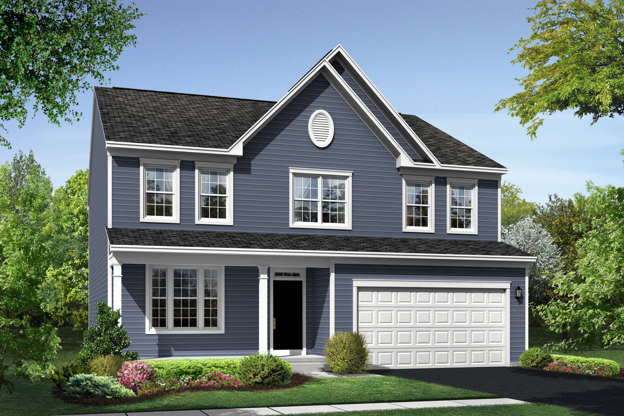 Lancaster CS elevation at Orchard Meadows