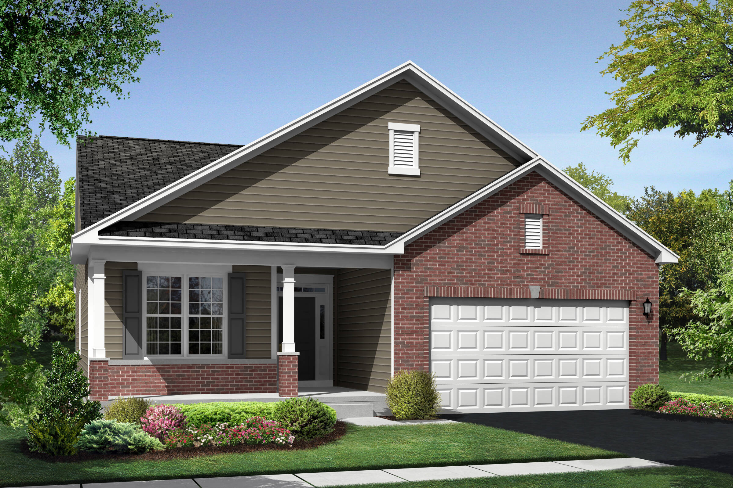 Loren CB elevation at Orchard Meadows