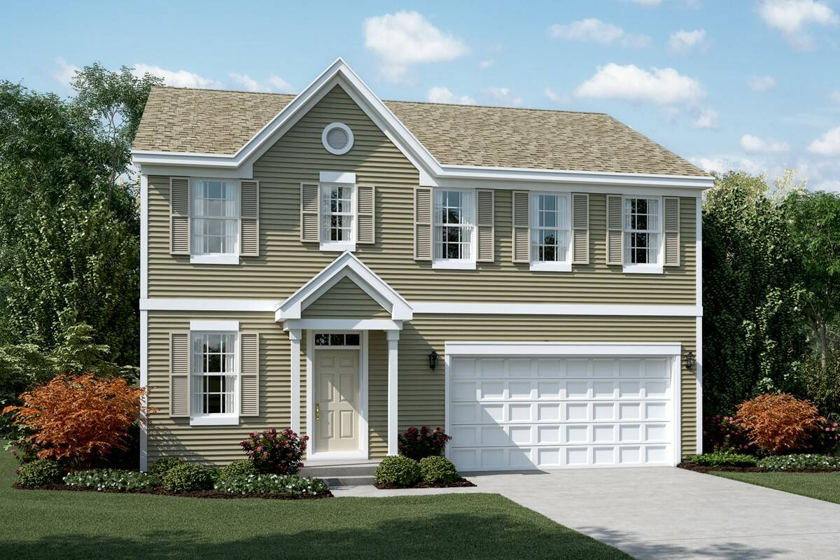 new homes designs photos.  meadow a elevation new homes in south elgin Sagebrook New Homes South Elgin IL