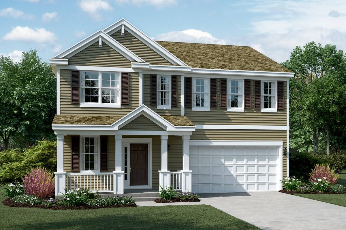 new homes designs photos.  meadow c elevation new homes in south elgin illinois Sagebrook New Homes South Elgin IL