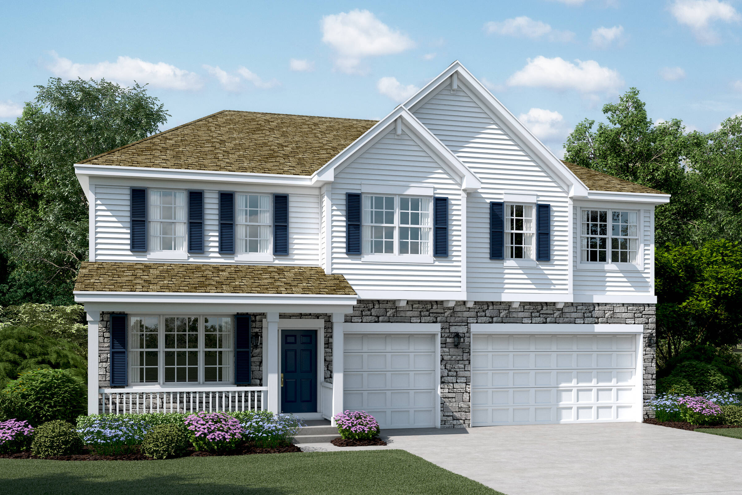 yorkshire b stone sagebrook single family homes in south elgin