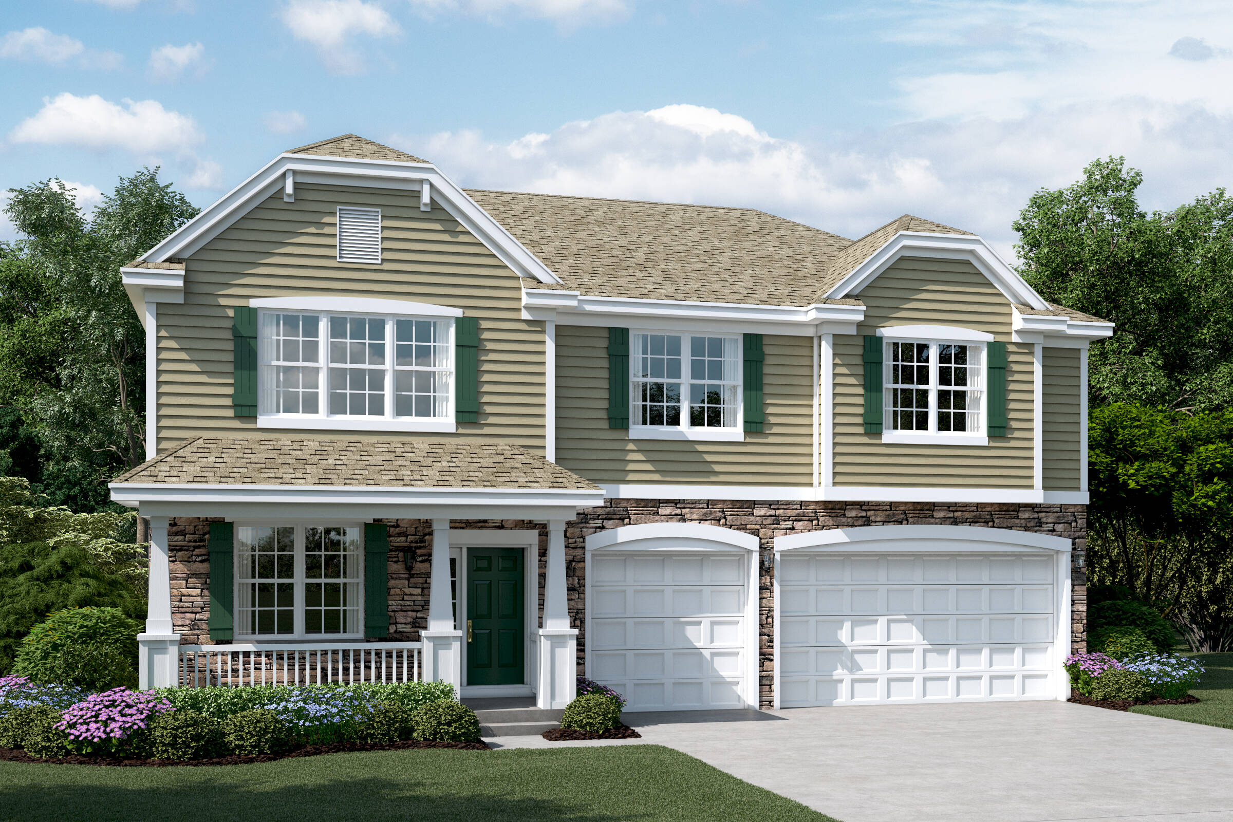 yorkshire e stone sagebrook single family homes in south elgin