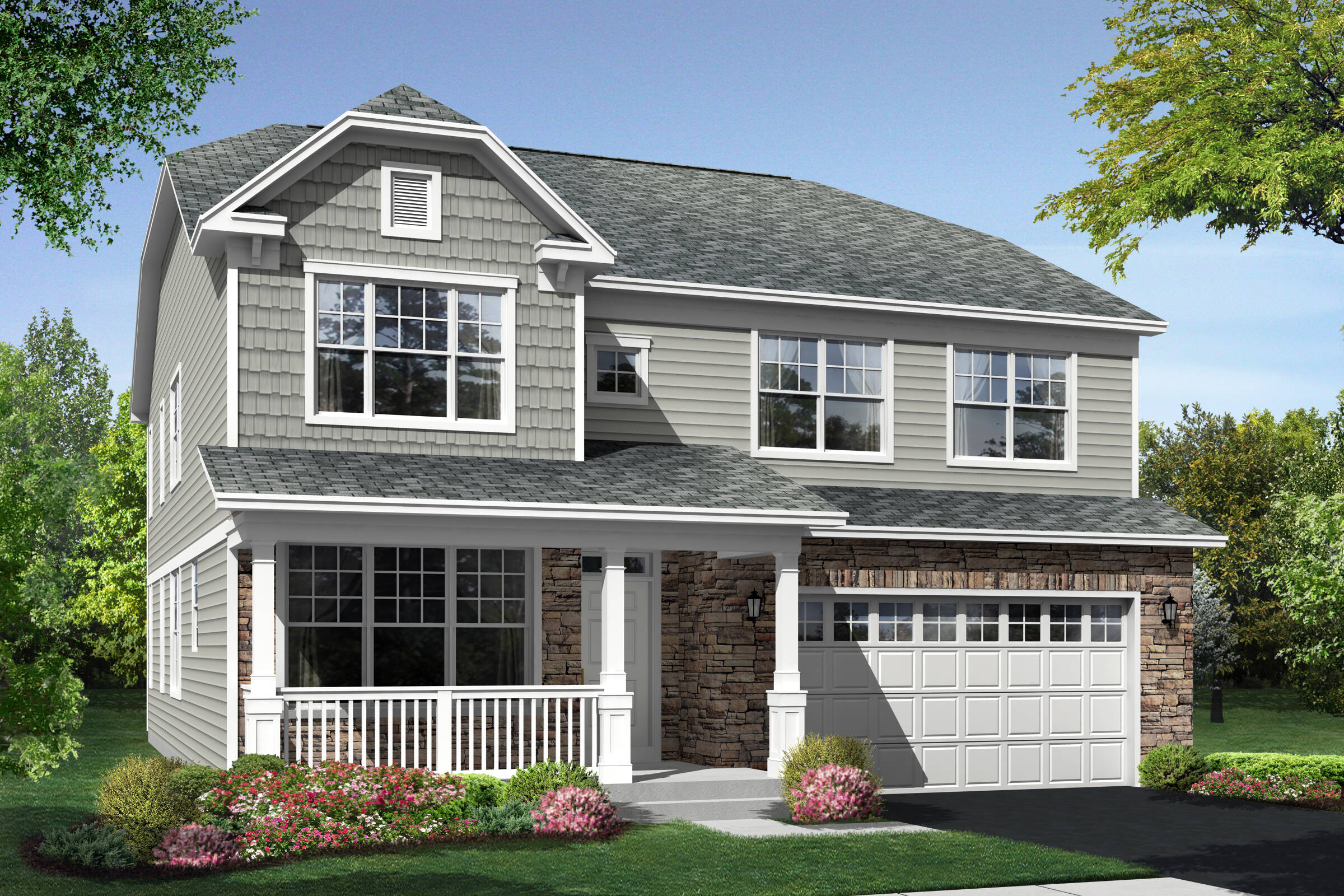 somerset at grande park new homes in plainfield il