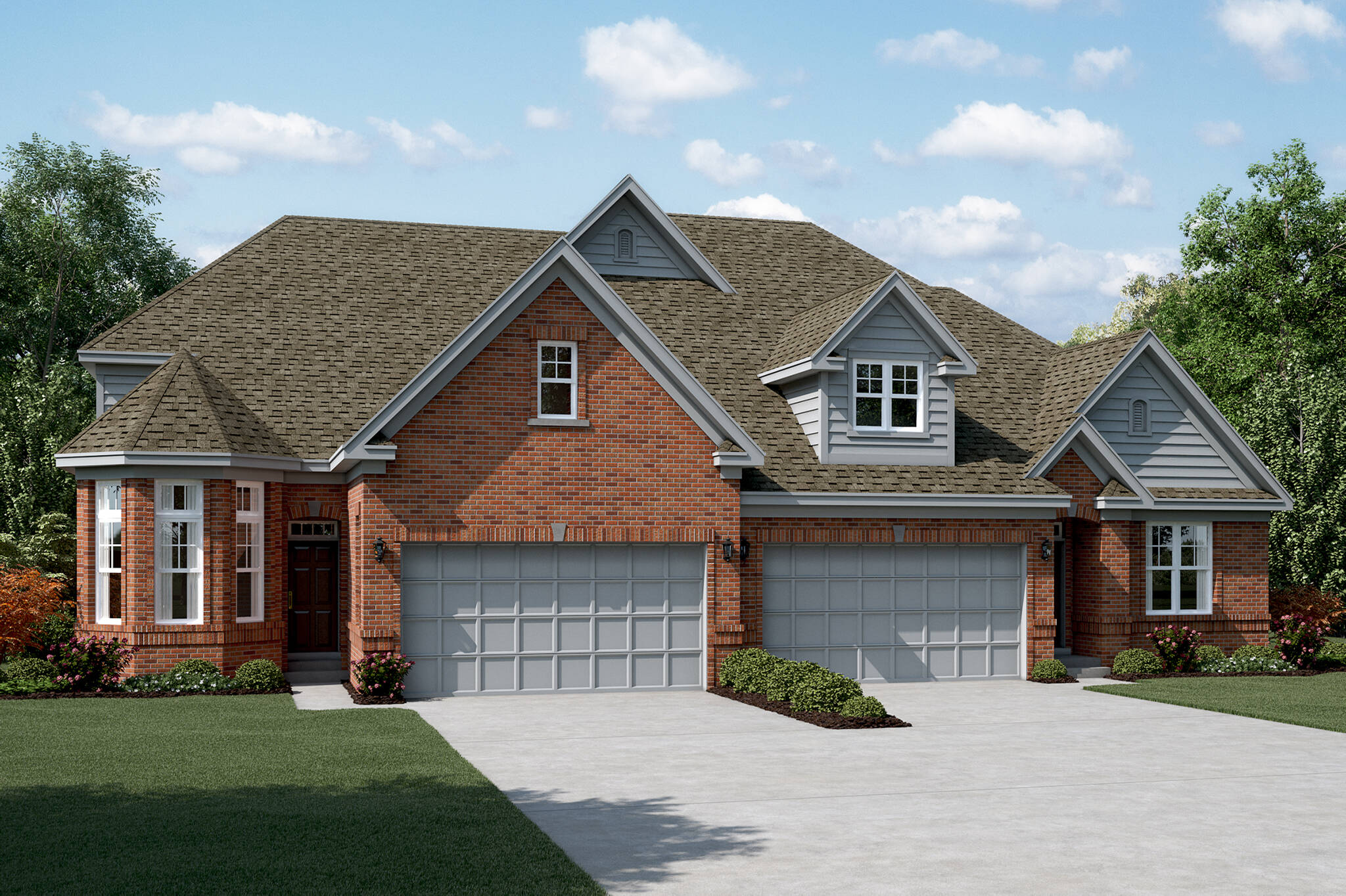 villas at trafford place - new homes in naperville, il
