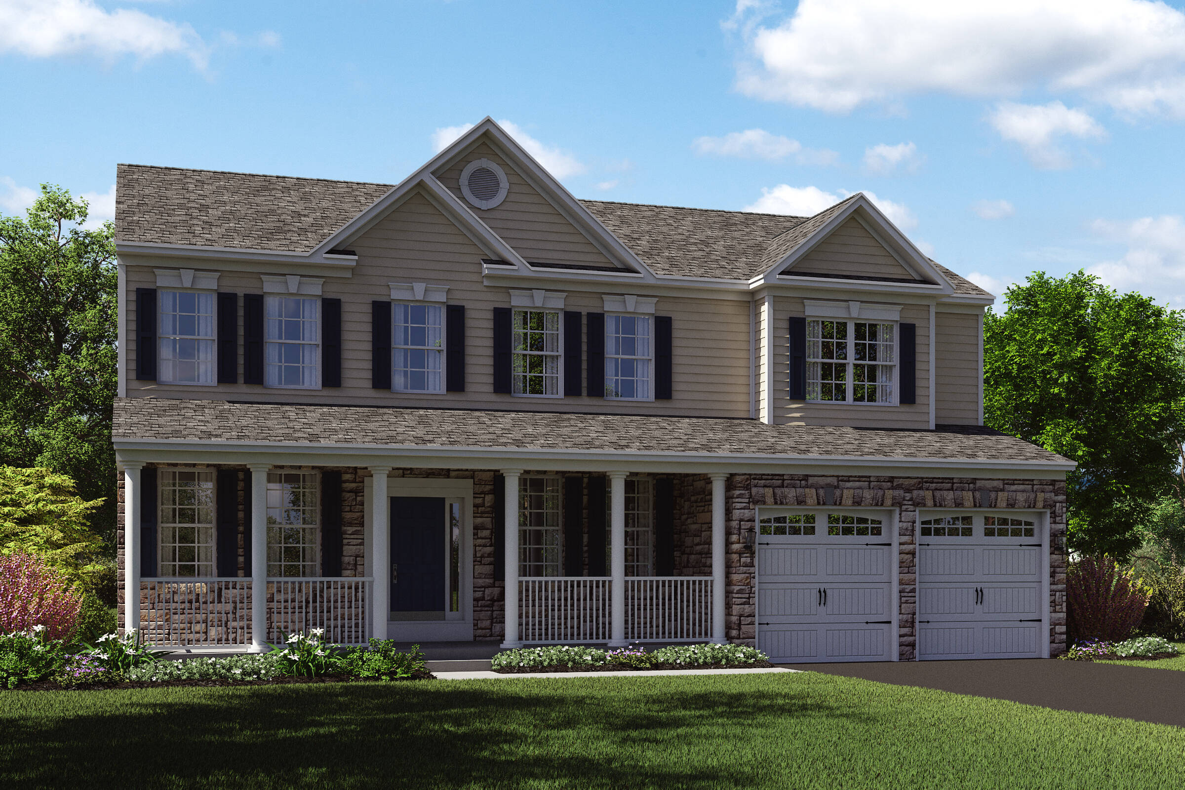 delaware c country stone new homes at ashers farm in maryland