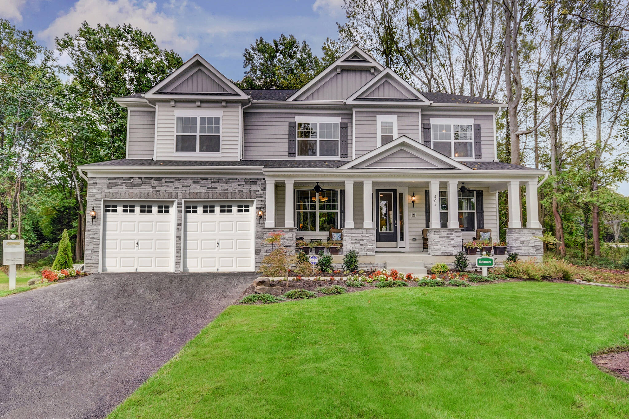 delaware c new home at ashers farm in maryland