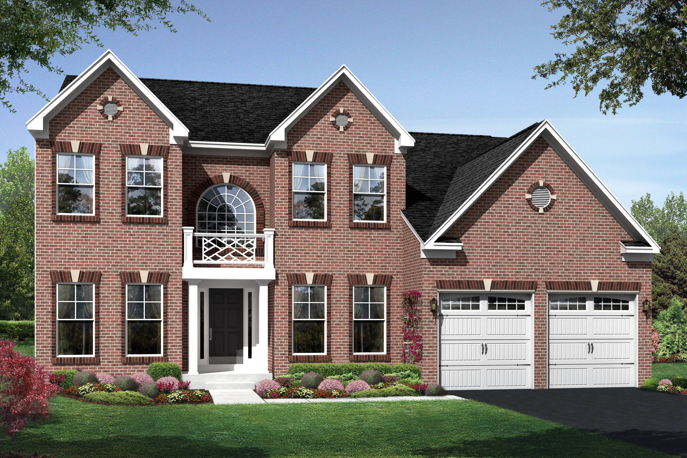 alaska colonial new homes at magness farm in maryland