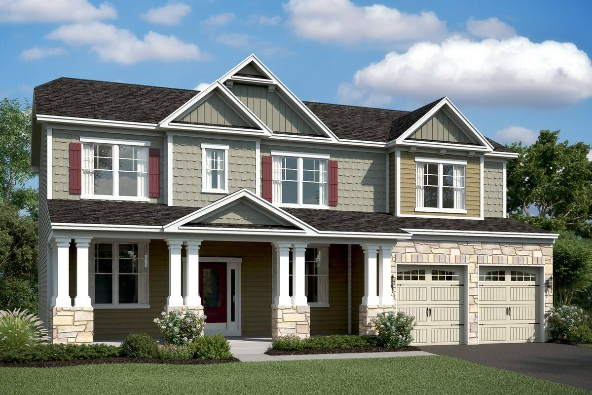 delaware c new homes at magness farms in maryland ...