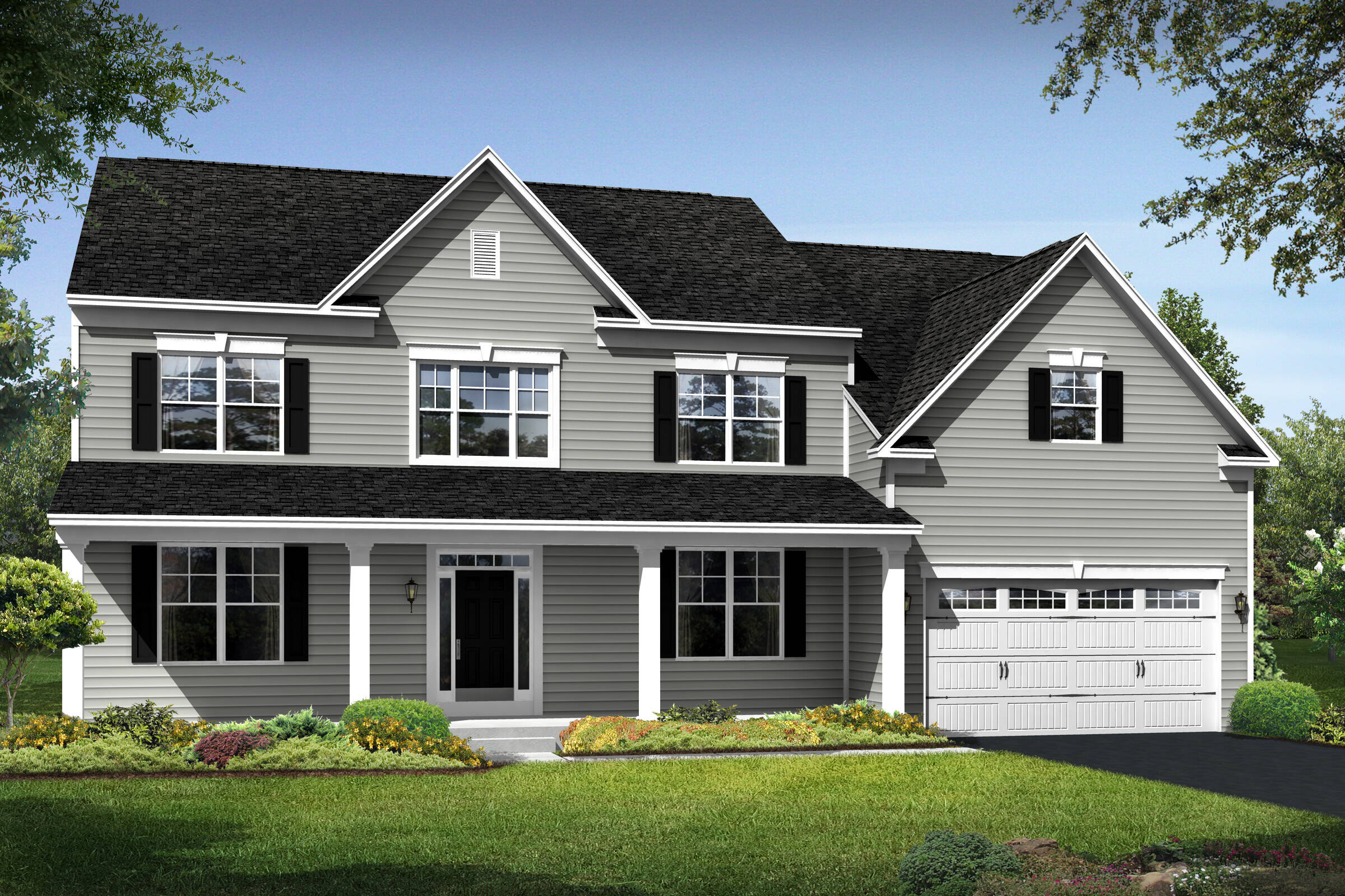 manhattan b new homes at magness farm in maryland