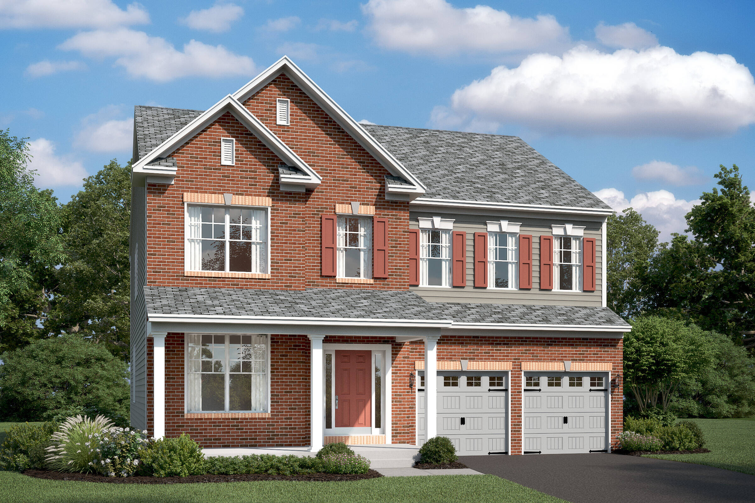 callahan II c new homes at stone mill in maryland