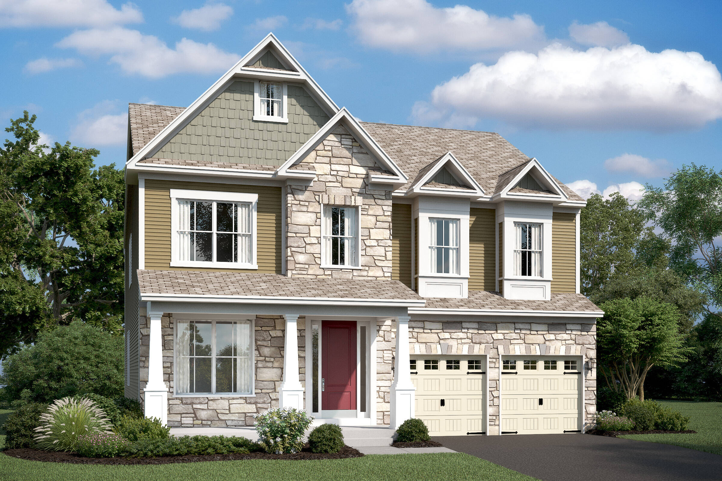 callahan II e new homes at stone mill in maryland