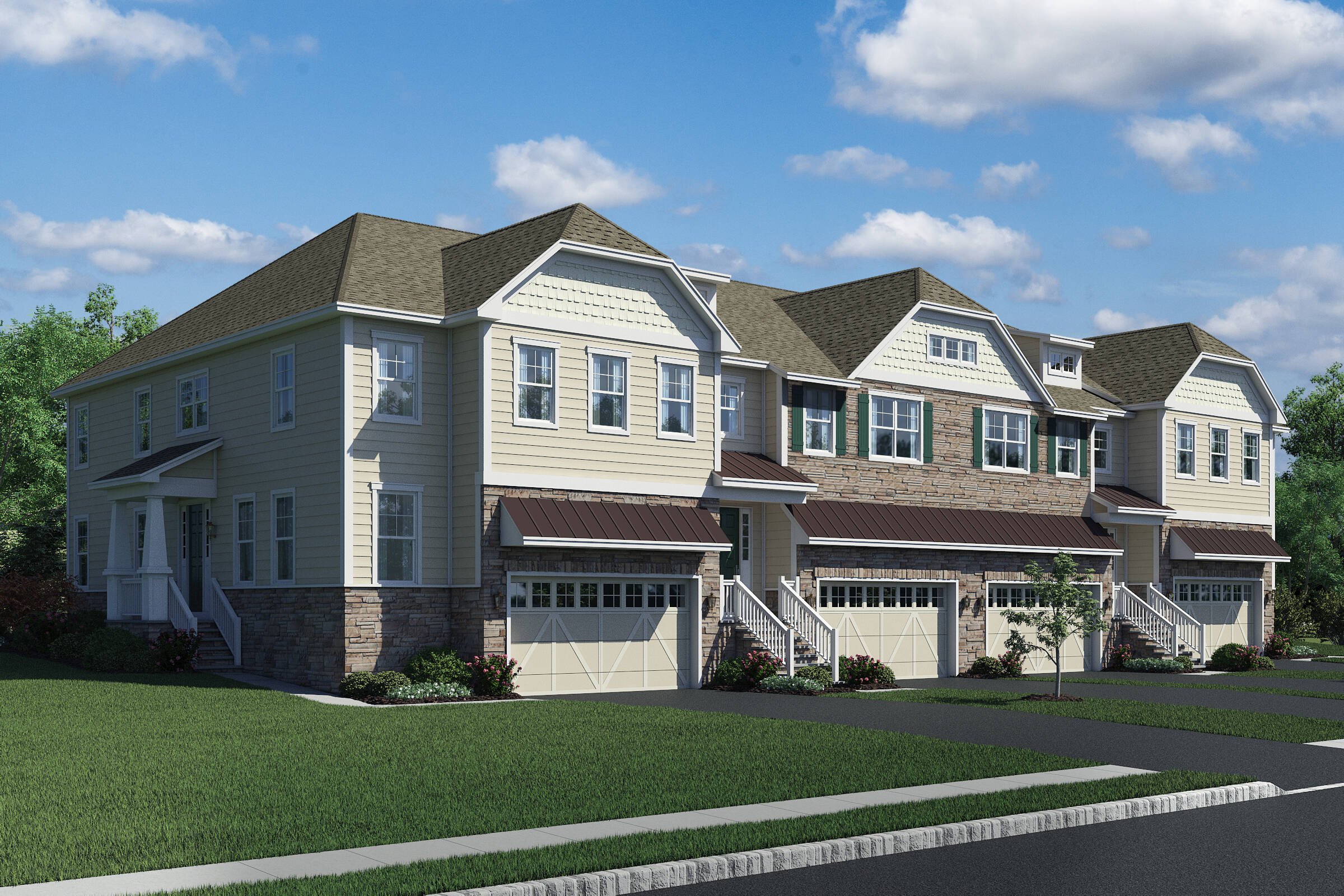 28 Foot Product New Townhomes Lincroft NJ