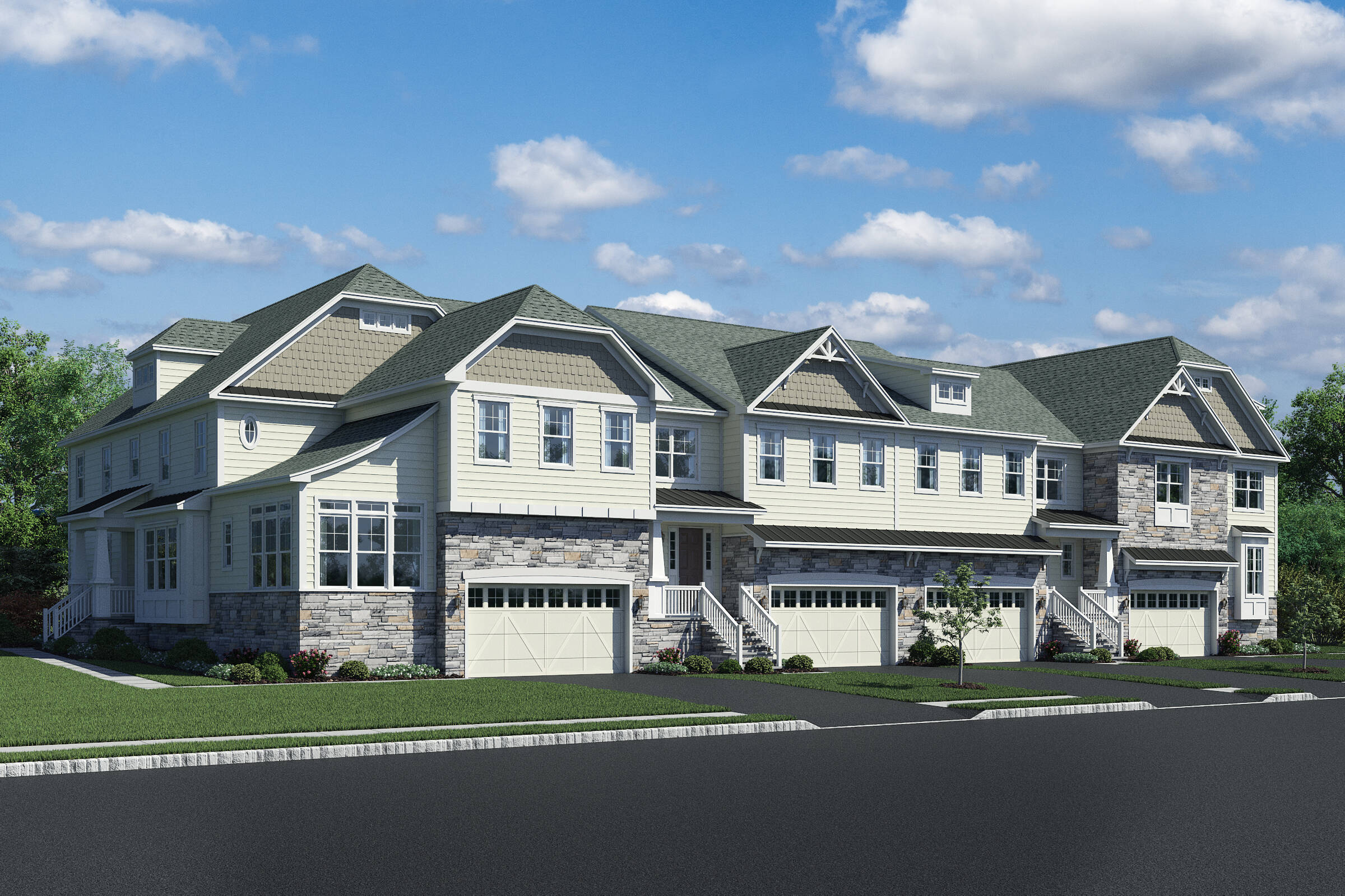 32 Foot Product New Townhomes Lincroft NJ