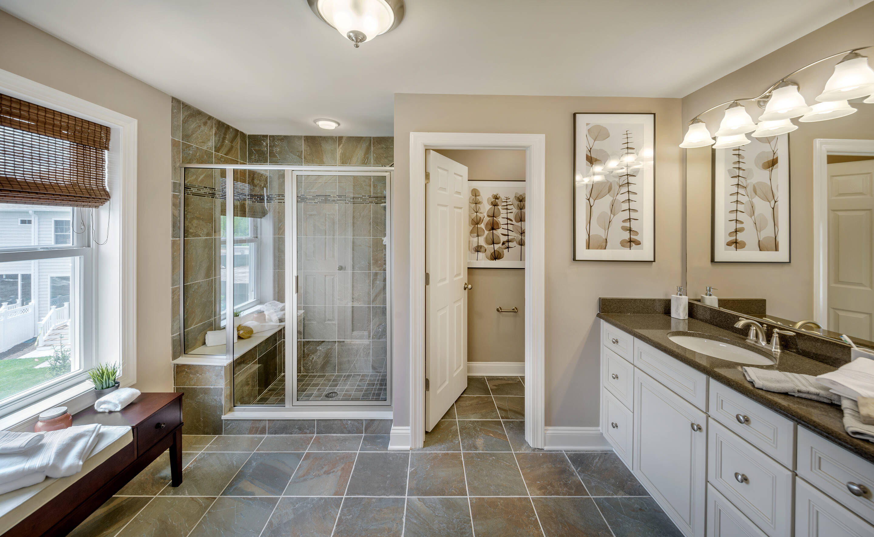 Four Ponds Lincroft NJ New Homes Haverford Owners Bath