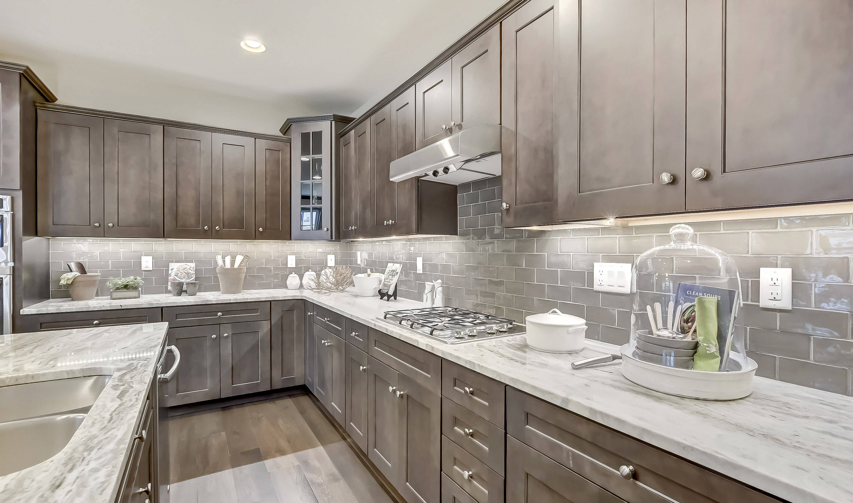 Ample Cabinet Space In Kitchen