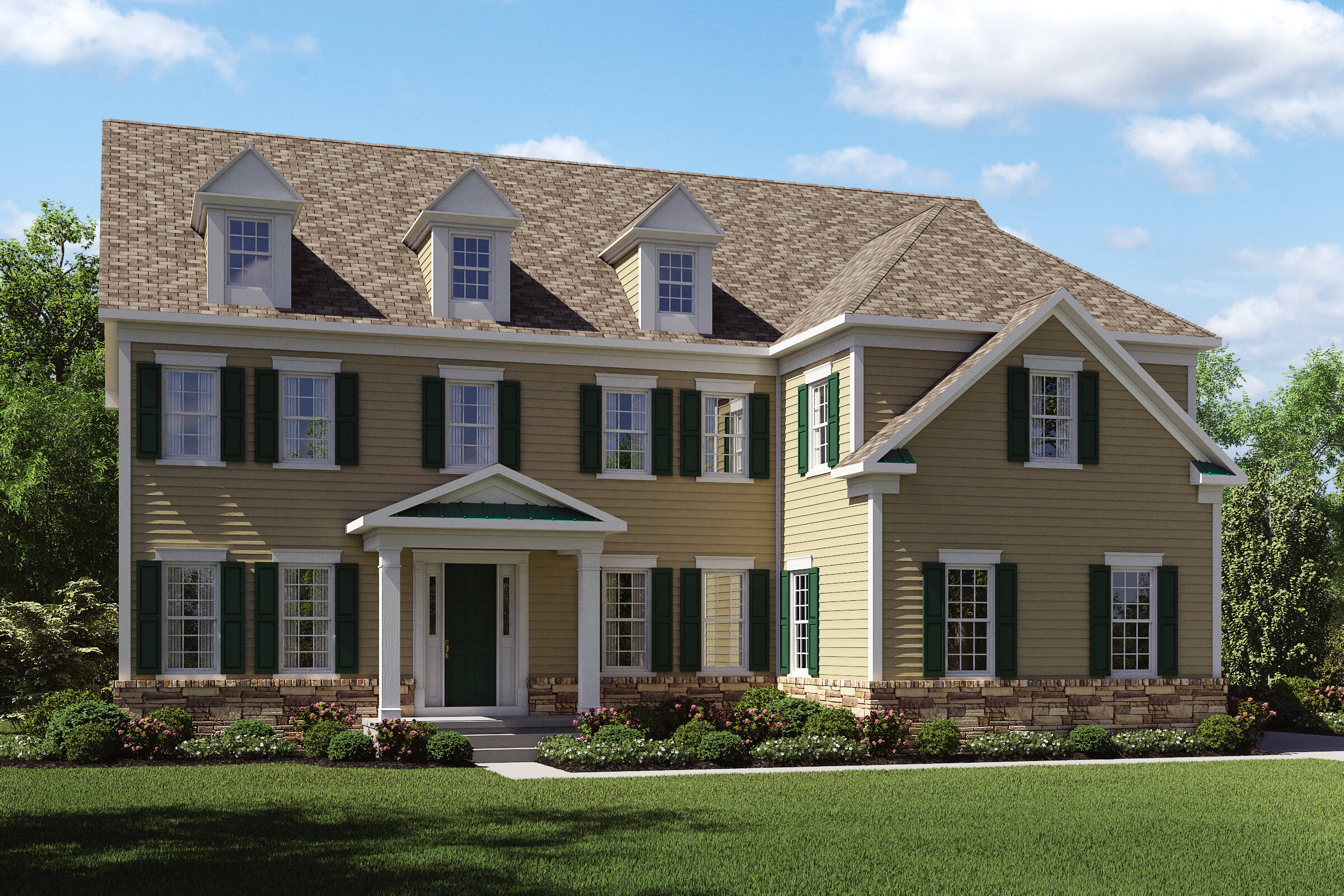 Boulder II-GS-Stone Watertable New Homes Middletown NJ