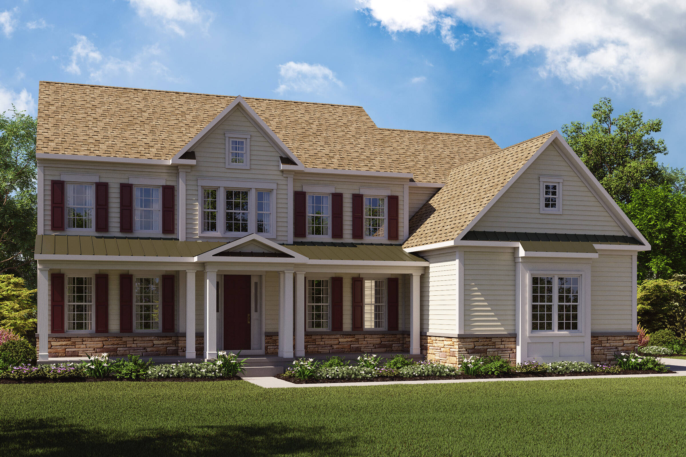 Monet-F-Stone Watertable  New Homes Middletown NJ