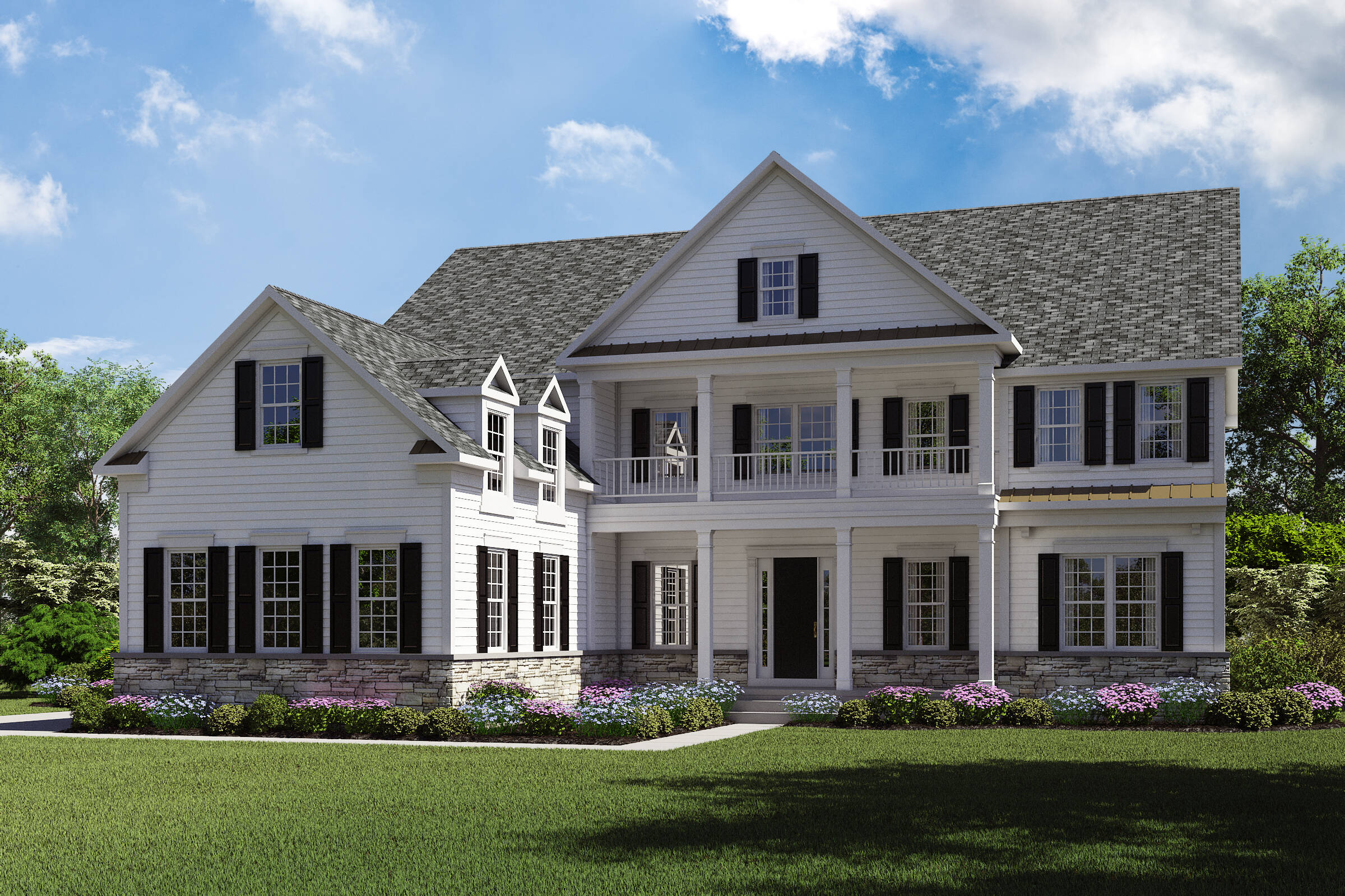 Monaco-H-Stone new homes in new jersey